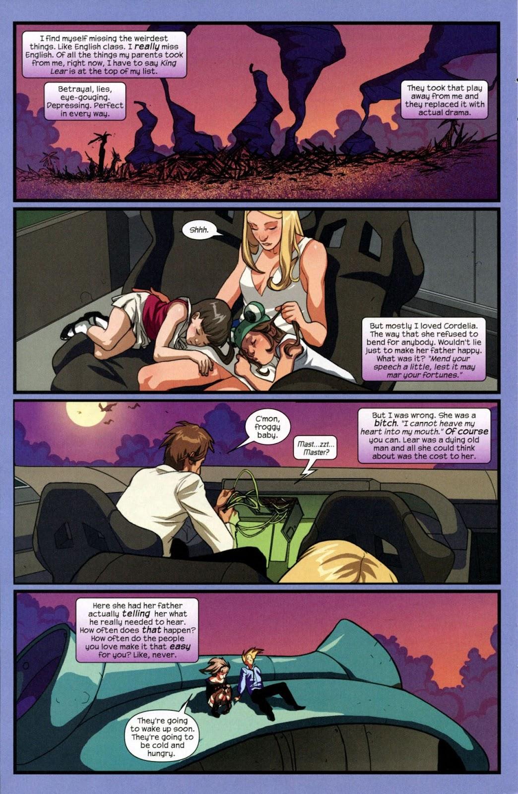 Runaways (2008) Issue #14 #14 - English 3