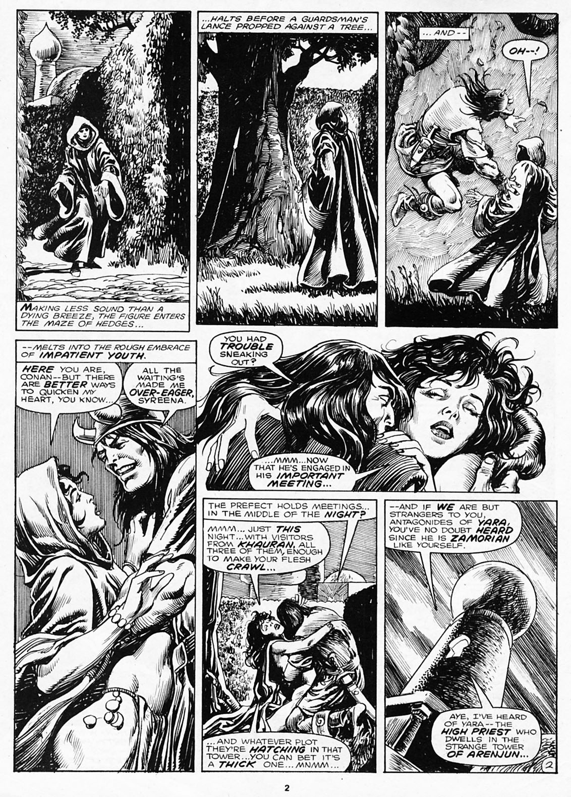 The Savage Sword Of Conan Issue #180 #181 - English 4