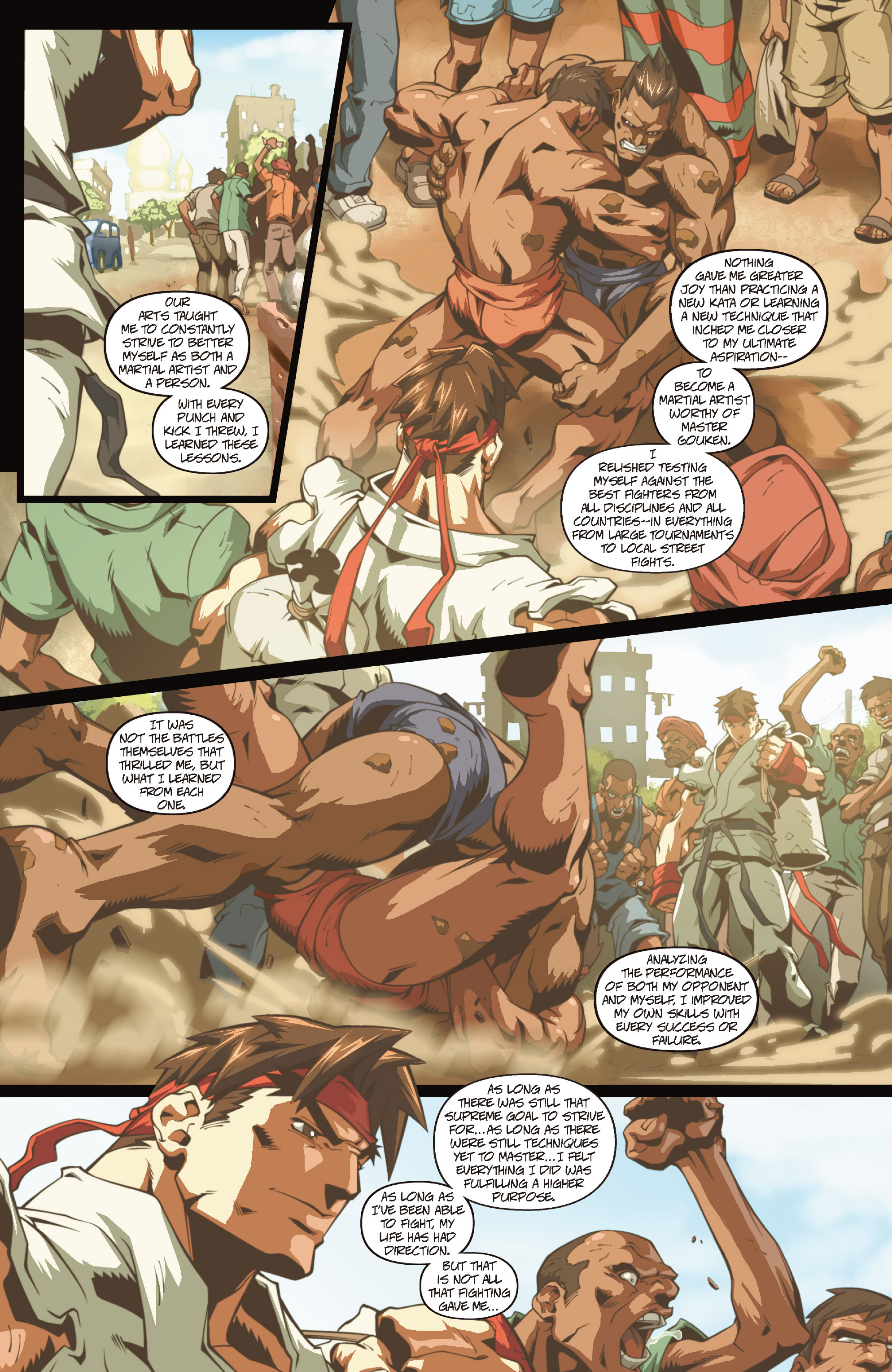 Street Fighter II chap 0 pic 6