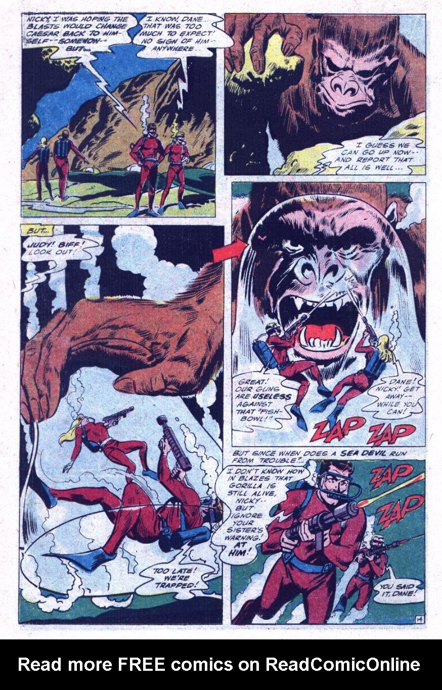 Read online Sea Devils comic -  Issue #30 - 19