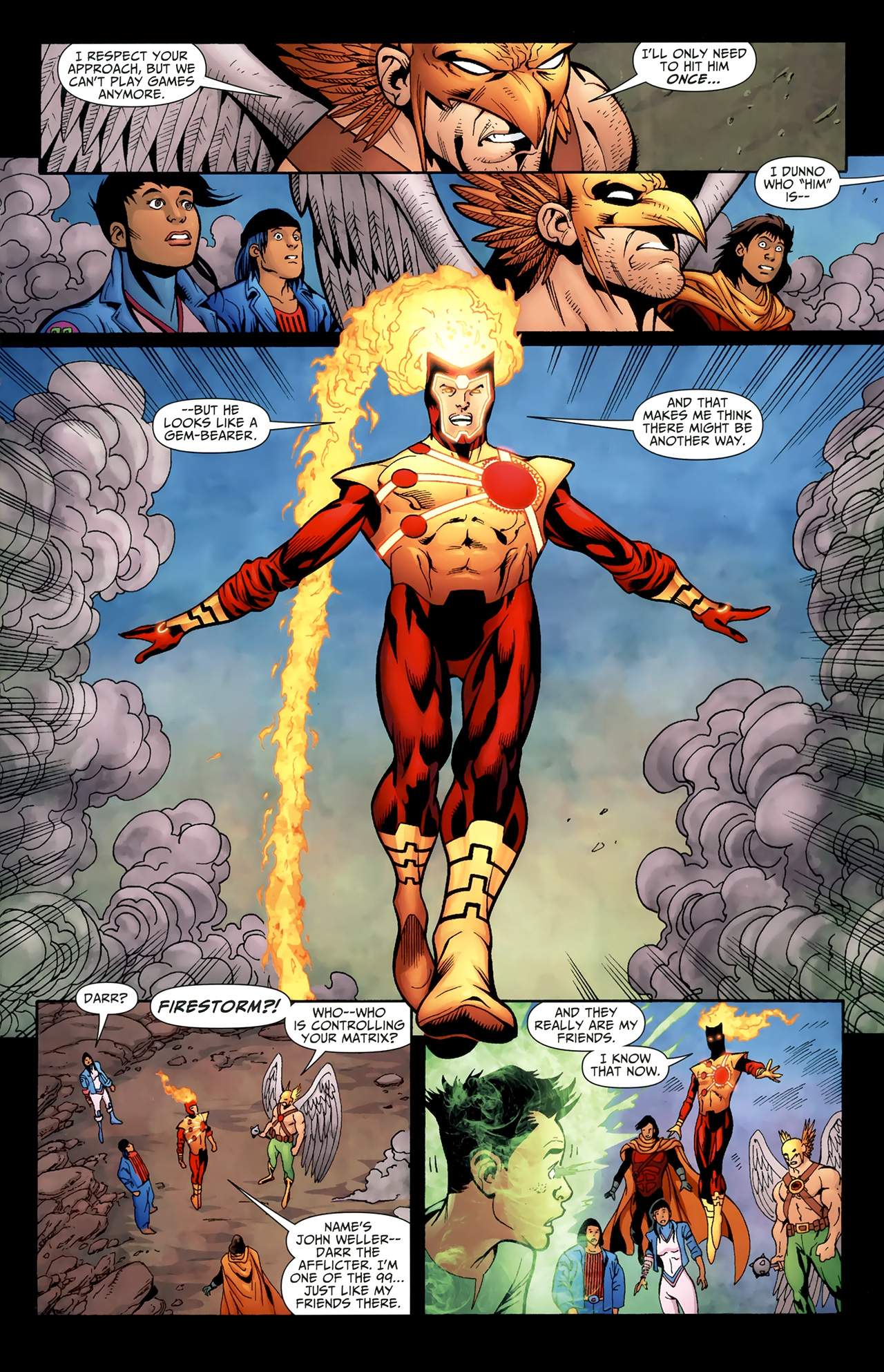 Read online Justice League of America/The 99 comic -  Issue #4 - 14