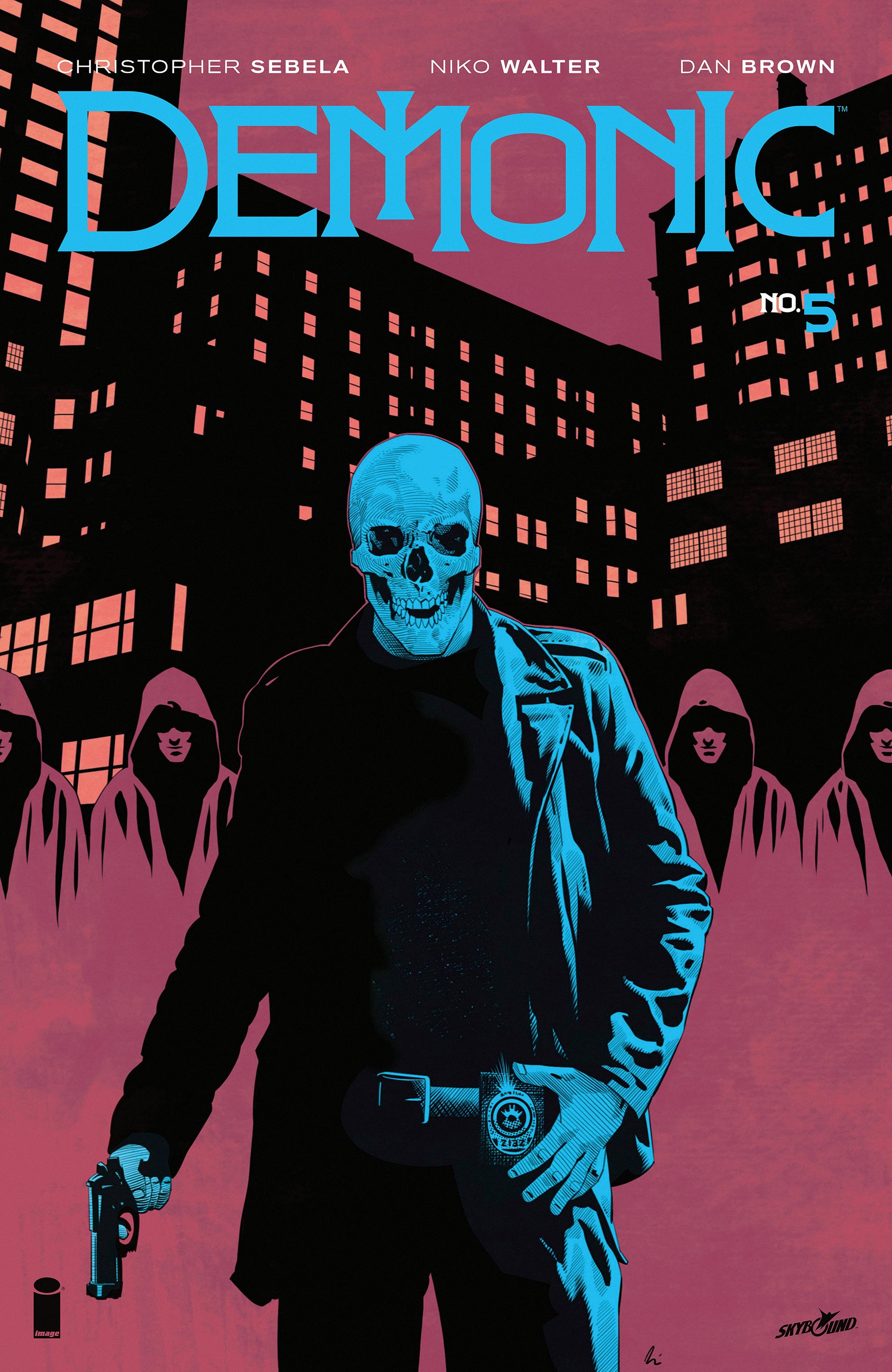 Read online Demonic comic -  Issue #5 - 1