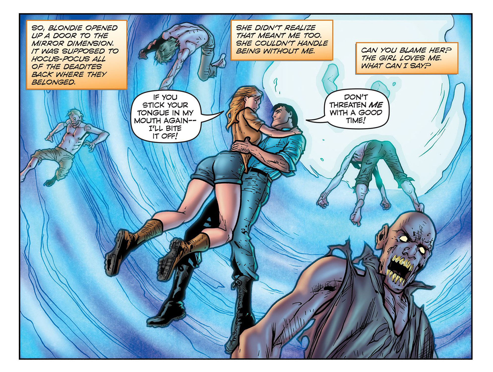 Read online Evil Dead 2: Cradle of the Damned comic -  Issue #3 - 4