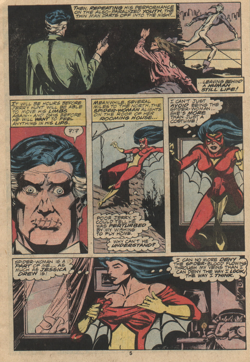 Spider-Woman (1978) Issue #9 #9 - English 5