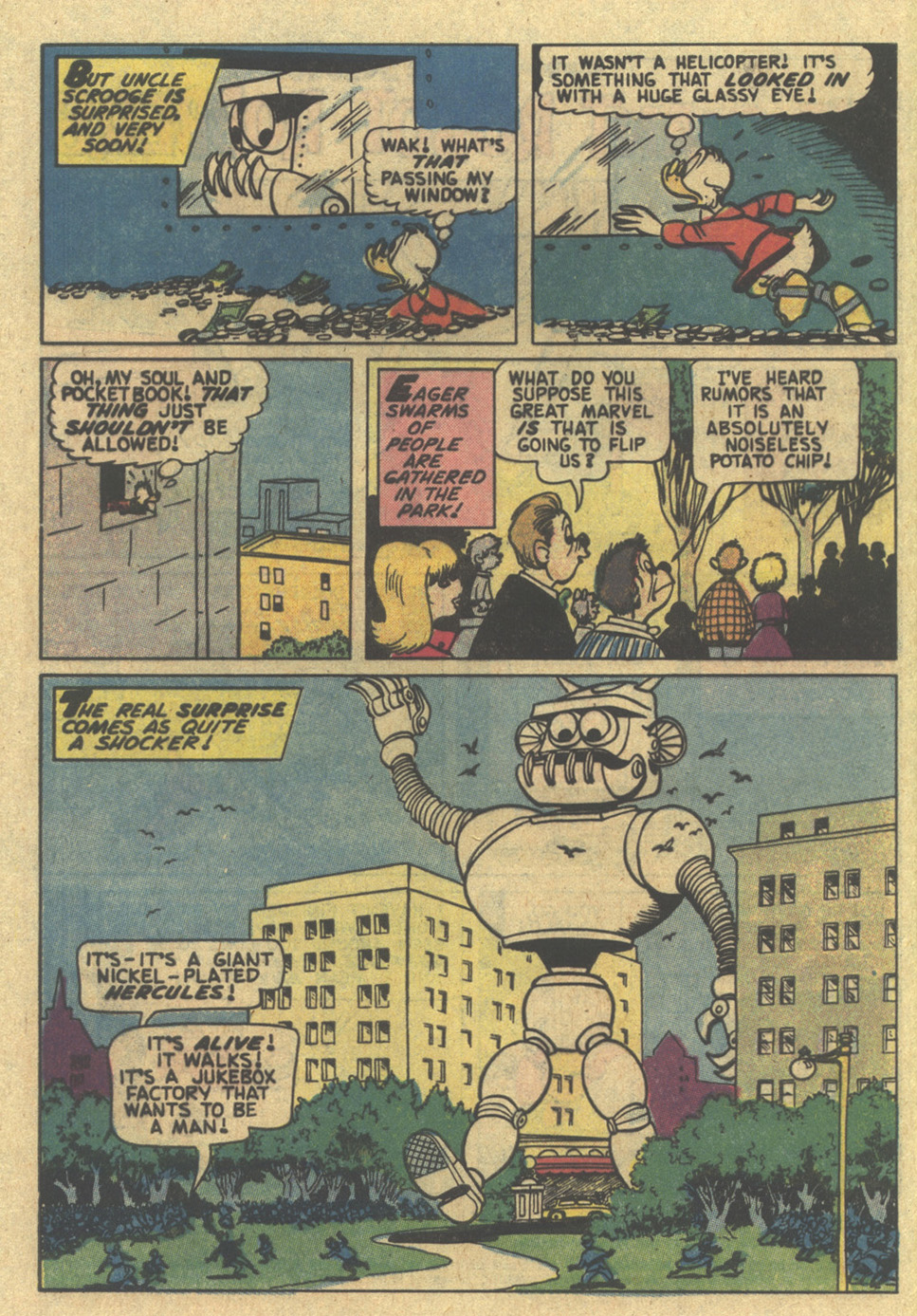 Uncle Scrooge (1953) Issue #185 #185 - English 4