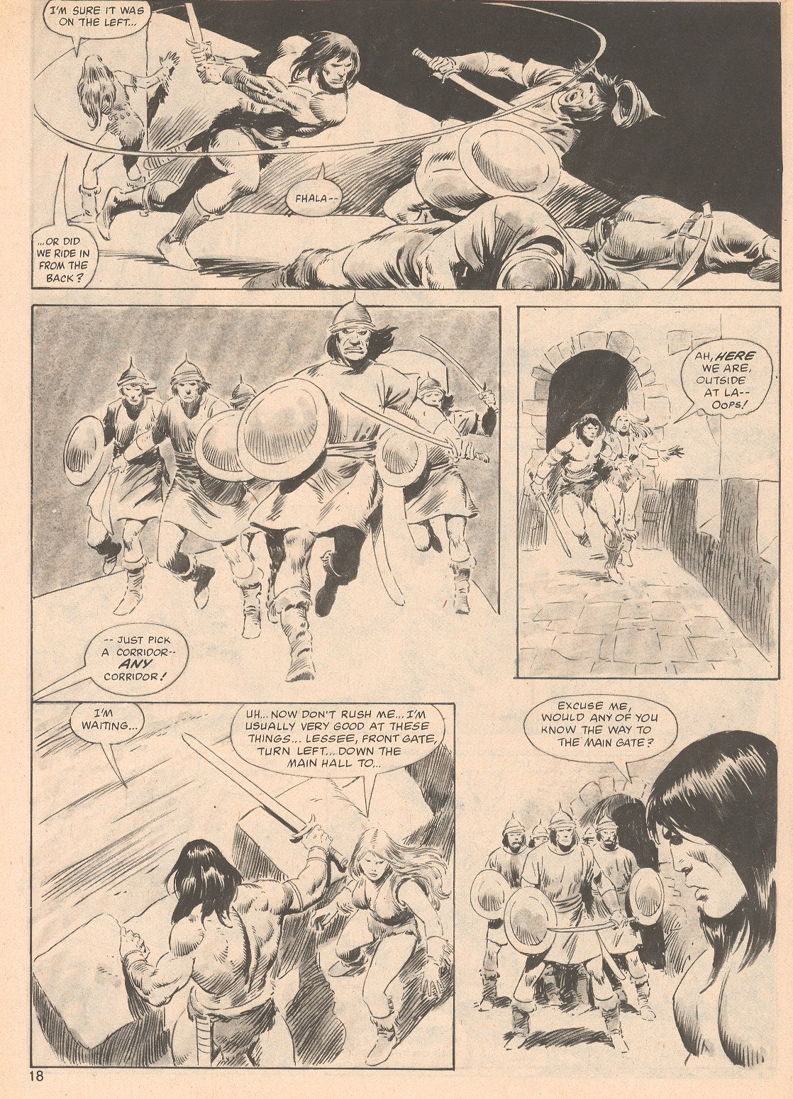 The Savage Sword Of Conan Issue #70 #71 - English 18