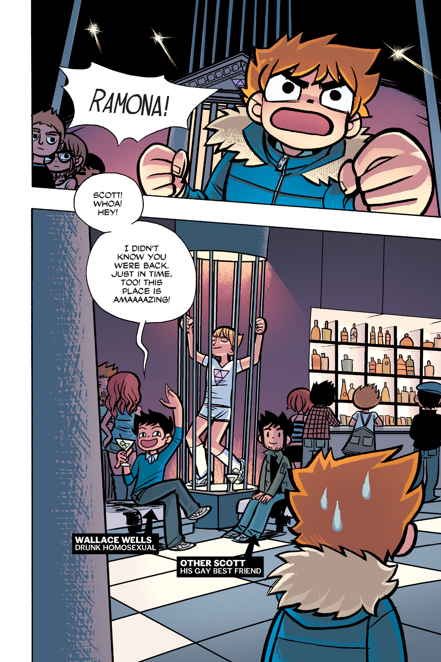 Read online Scott Pilgrim comic -  Issue #6 - 101