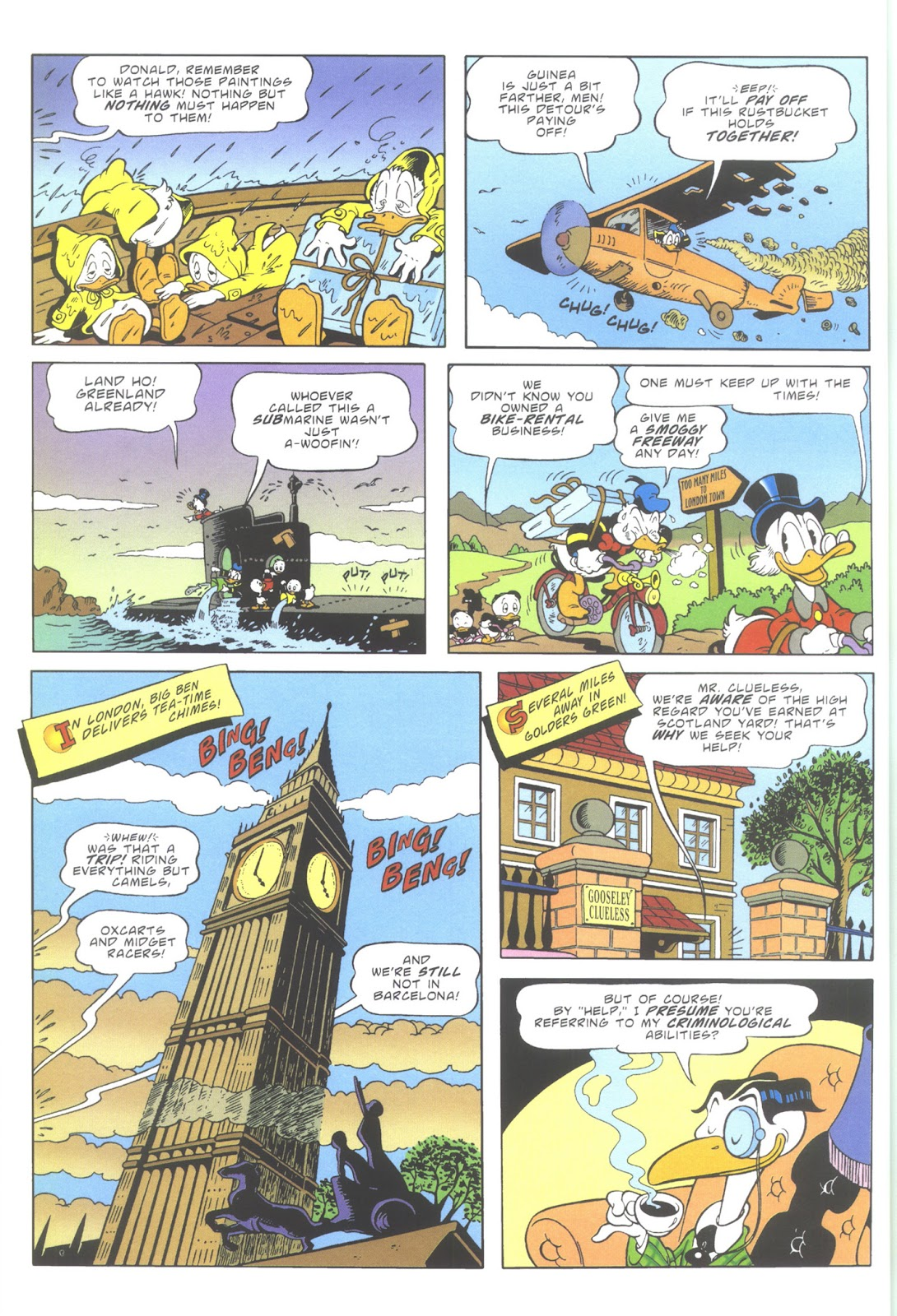 Uncle Scrooge (1953) Issue #353 #353 - English 8