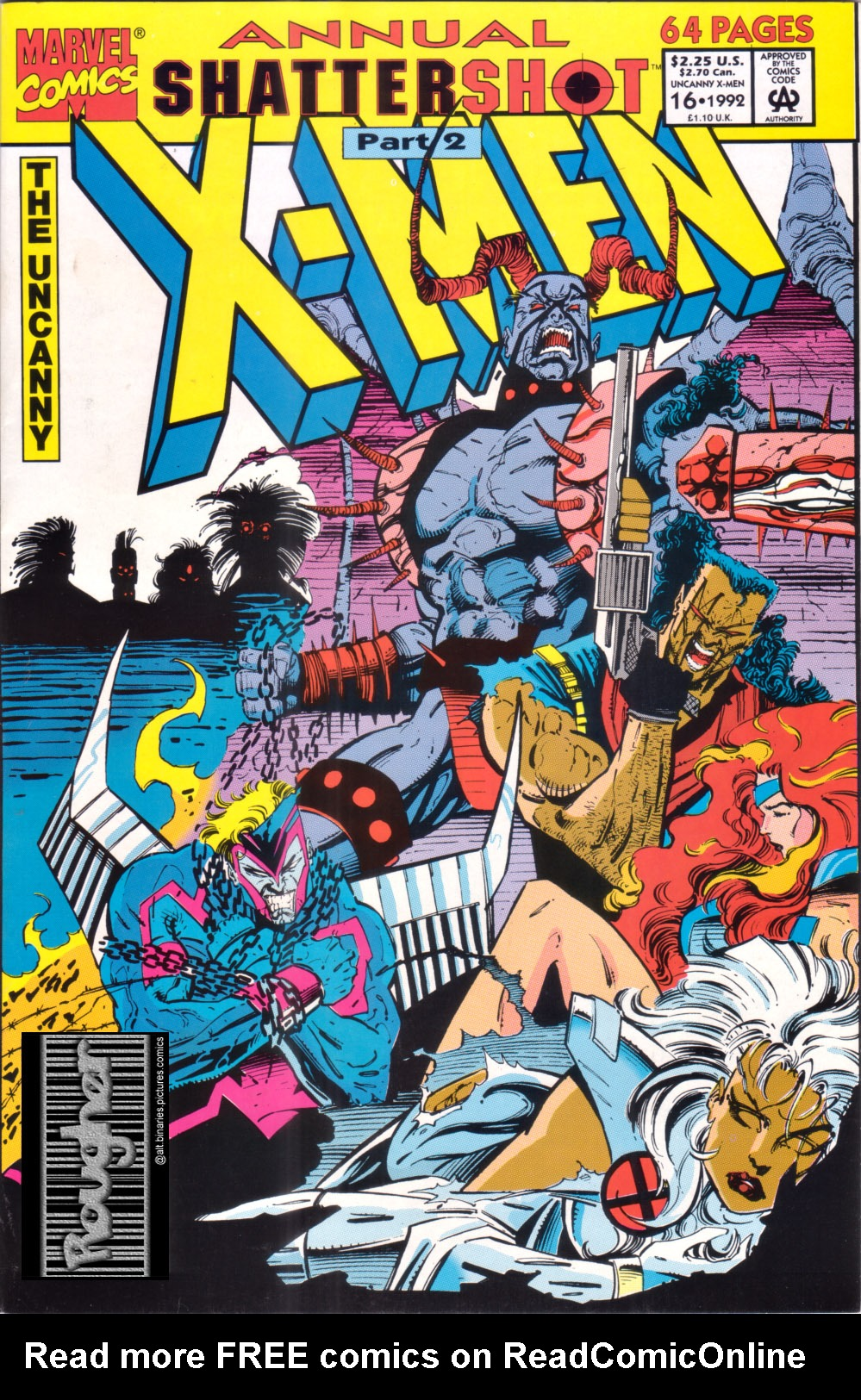 Uncanny X-Men (1963) _Annual_16 Page 1
