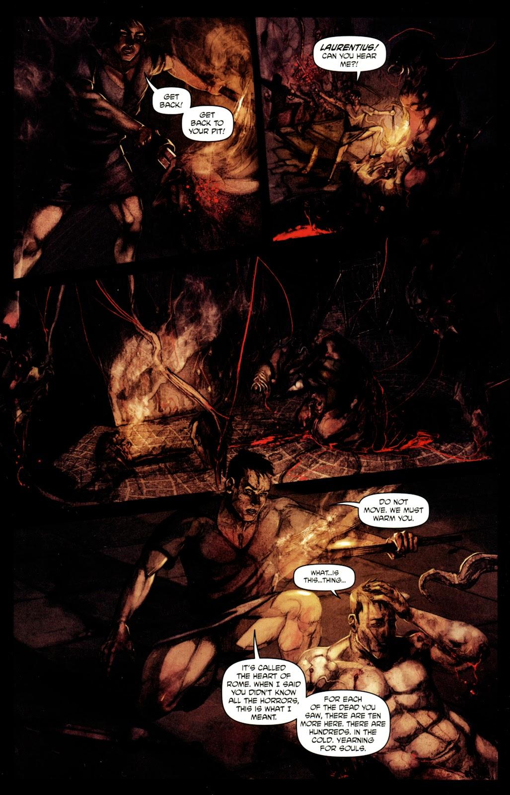 Caligula: Heart of Rome Issue #4 #4 - English 22