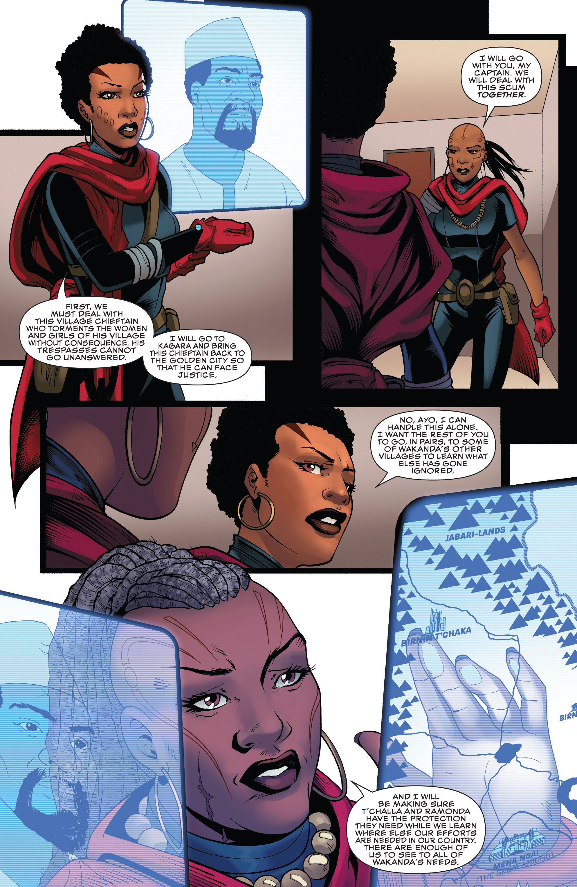 Read online Black Panther: World of Wakanda comic -  Issue #4 - 14