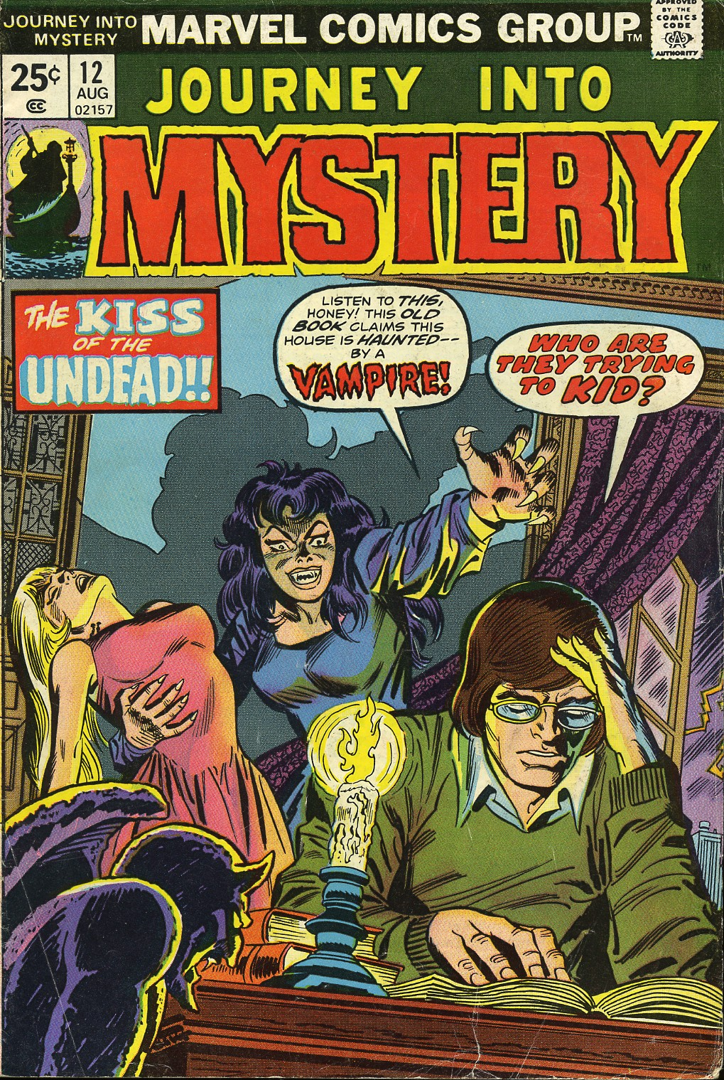 Journey Into Mystery (1972) 12 Page 1