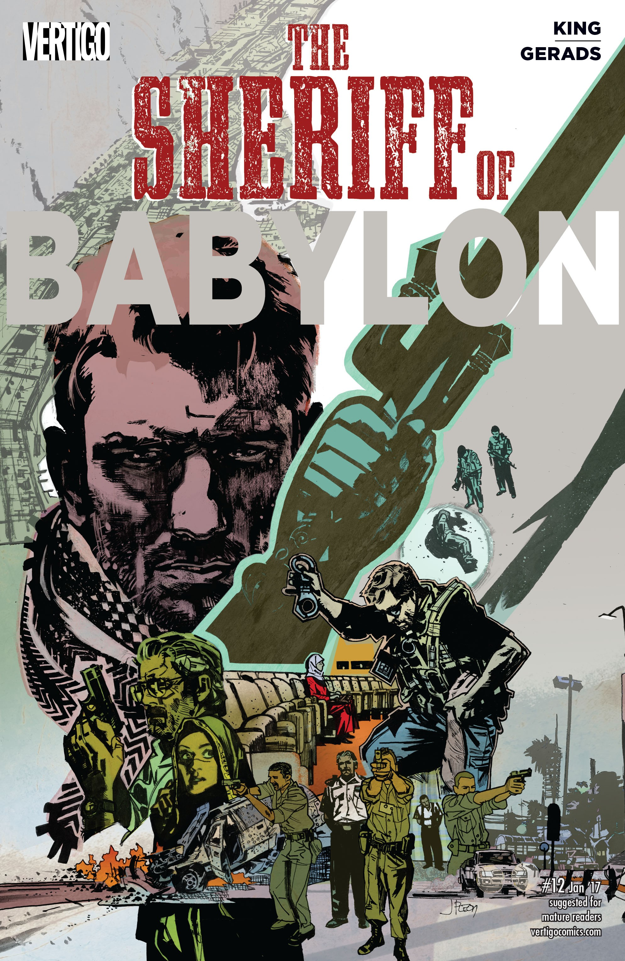 The Sheriff of Babylon (2016) issue 12 - Page 1
