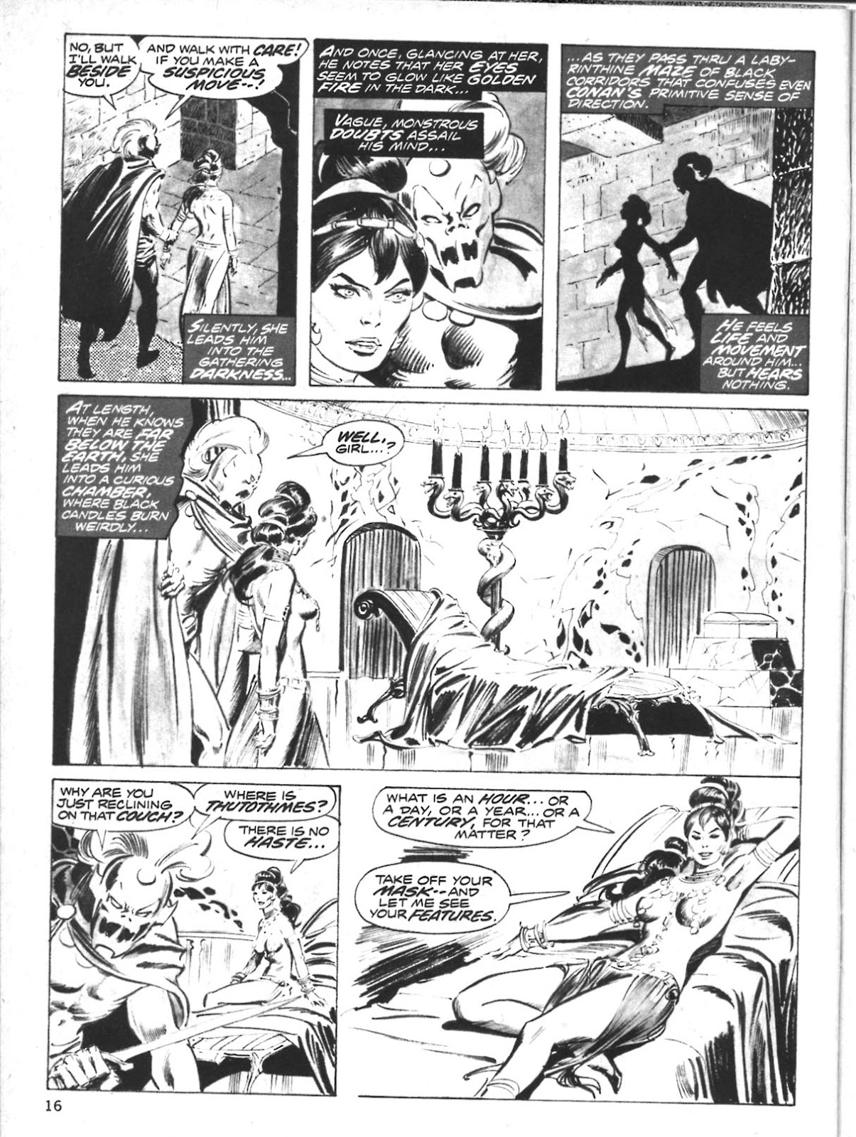 The Savage Sword Of Conan Issue #10 #11 - English 16