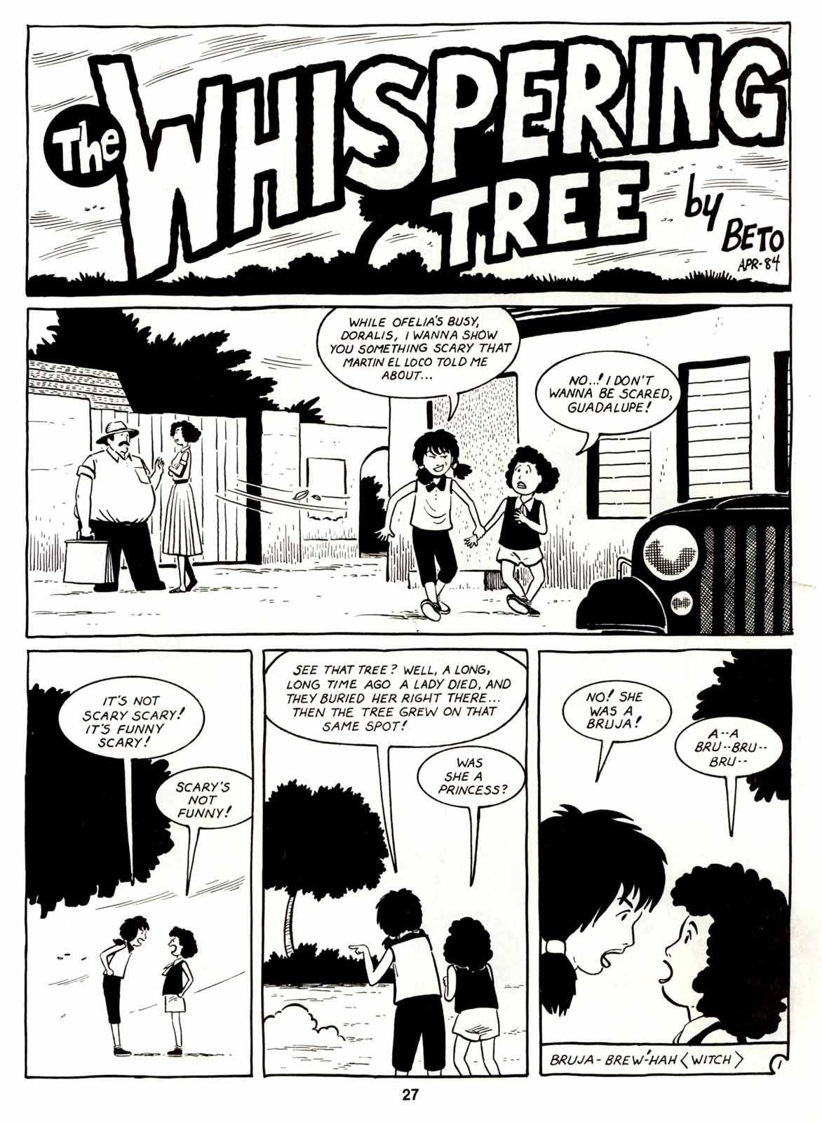 Love and Rockets (1982) Issue #7 #6 - English 29