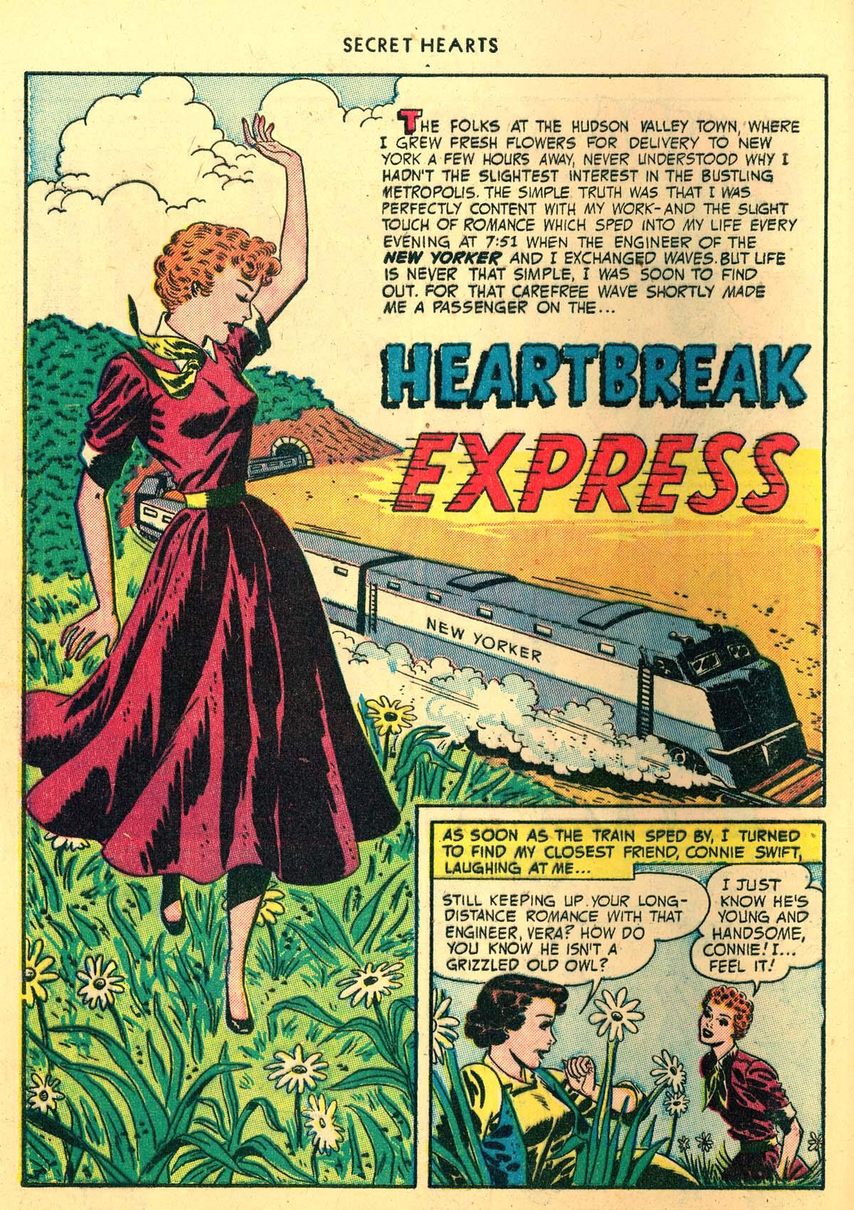 Read online Secret Hearts comic -  Issue #4 - 40