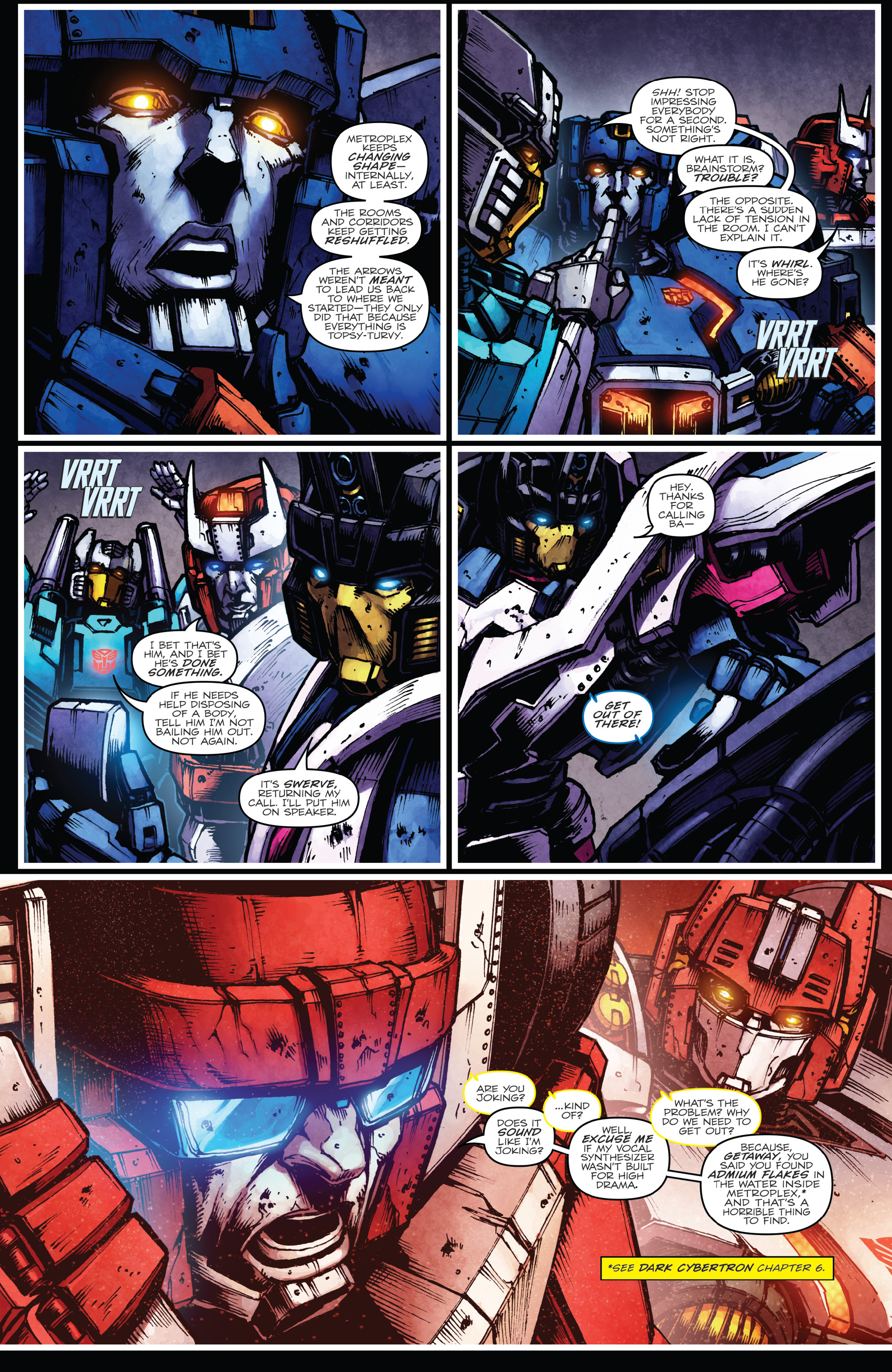 Read online The Transformers: Dark Cybertron Finale comic -  Issue # Full - 10