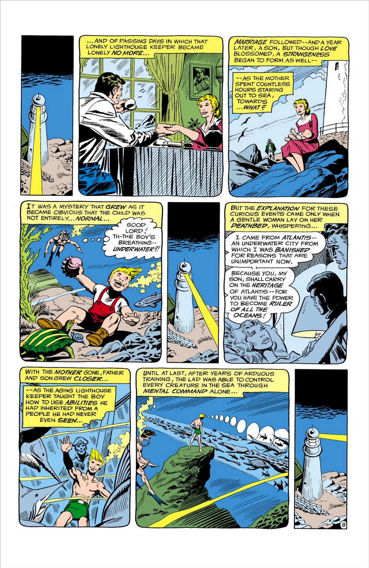 Read online Aquaman (1962) comic -  Issue #58 - 9