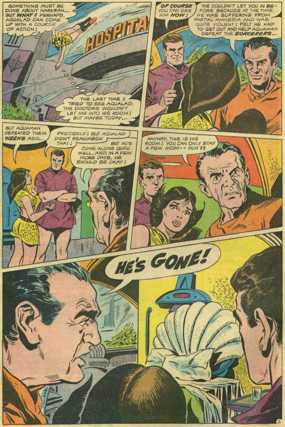 Aquaman (1962) Issue #43 #43 - English 4