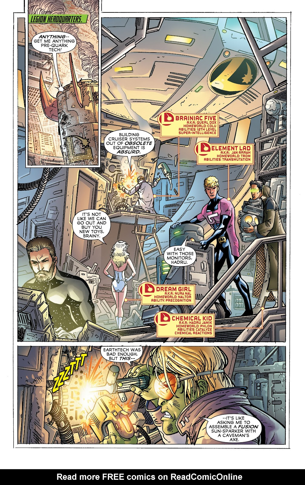 Legion of Super-Heroes (2011) Issue #18 #19 - English 10