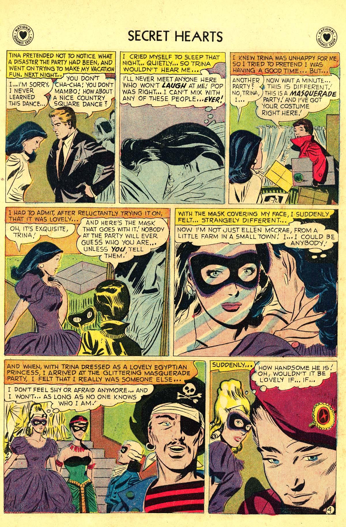 Read online Secret Hearts comic -  Issue #54 - 22