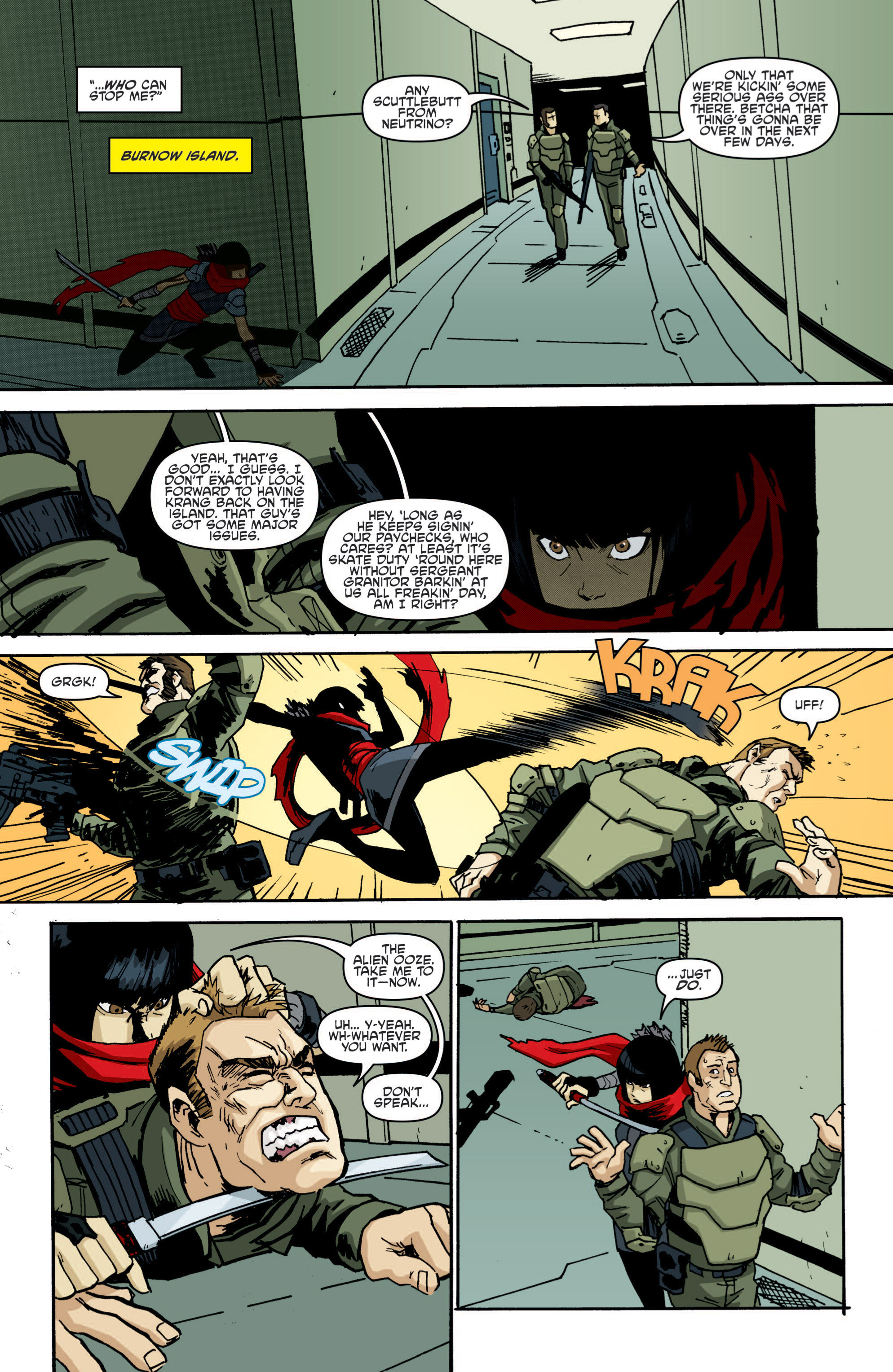 Read online Teenage Mutant Ninja Turtles (2011) comic -  Issue #19 - 13