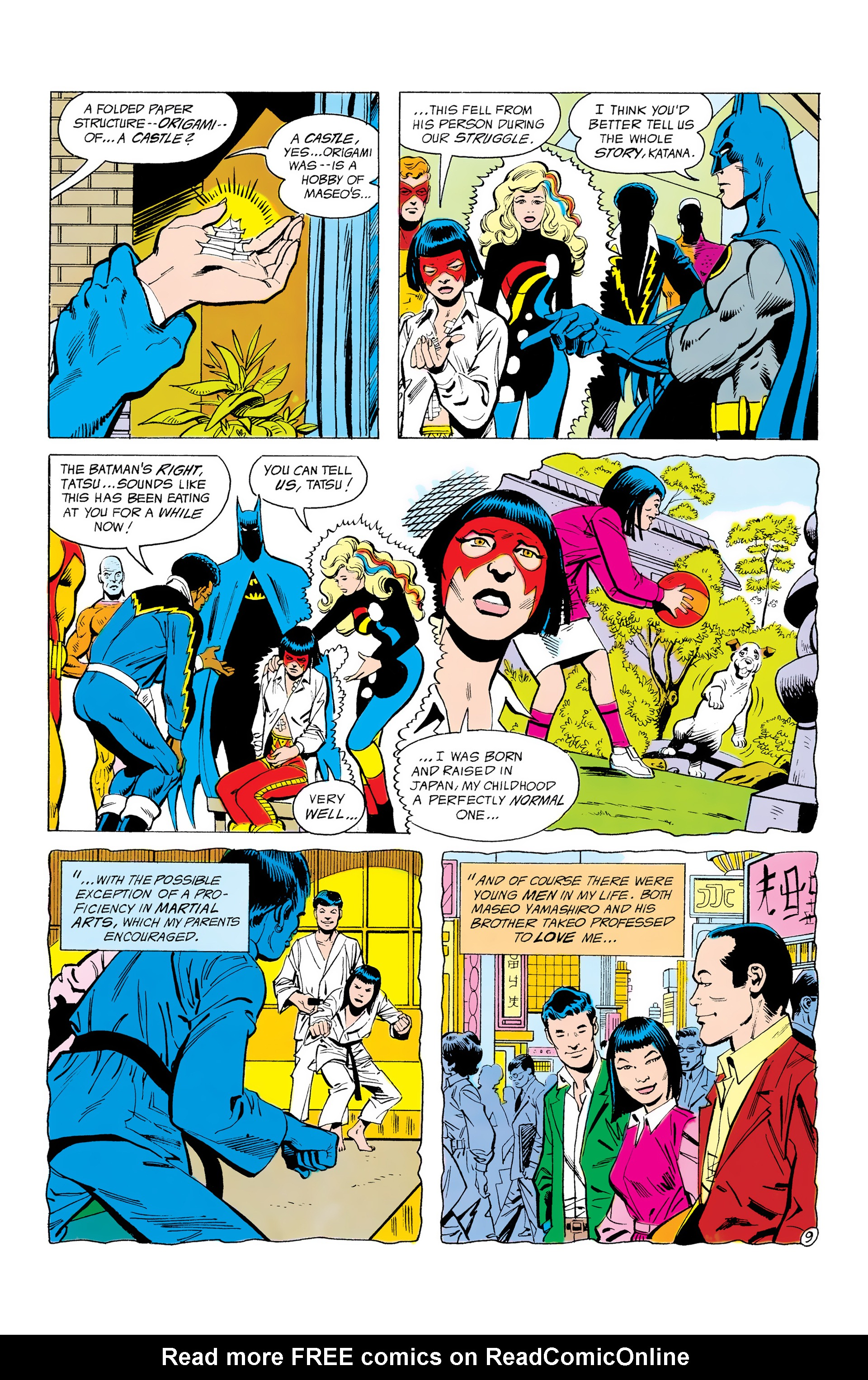 Batman and the Outsiders (1983) 12 Page 9