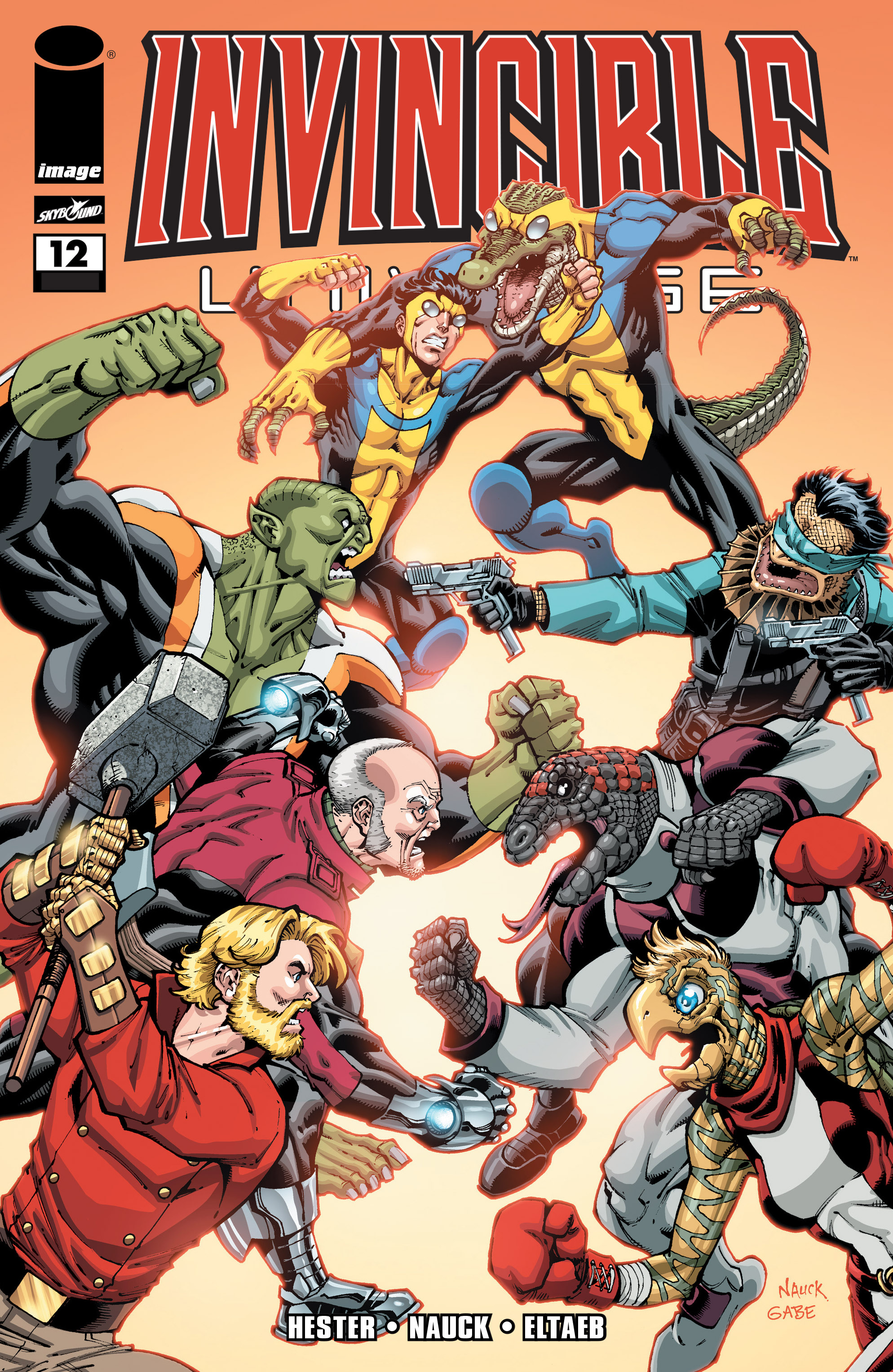 Read online Invincible Universe comic -  Issue #12 - 1