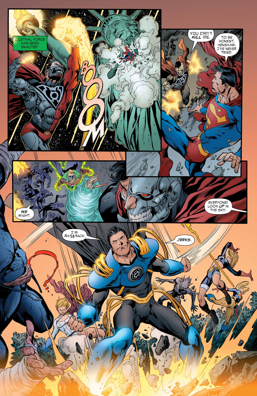Green Lantern: The Sinestro Corps War Full #1 - English 193