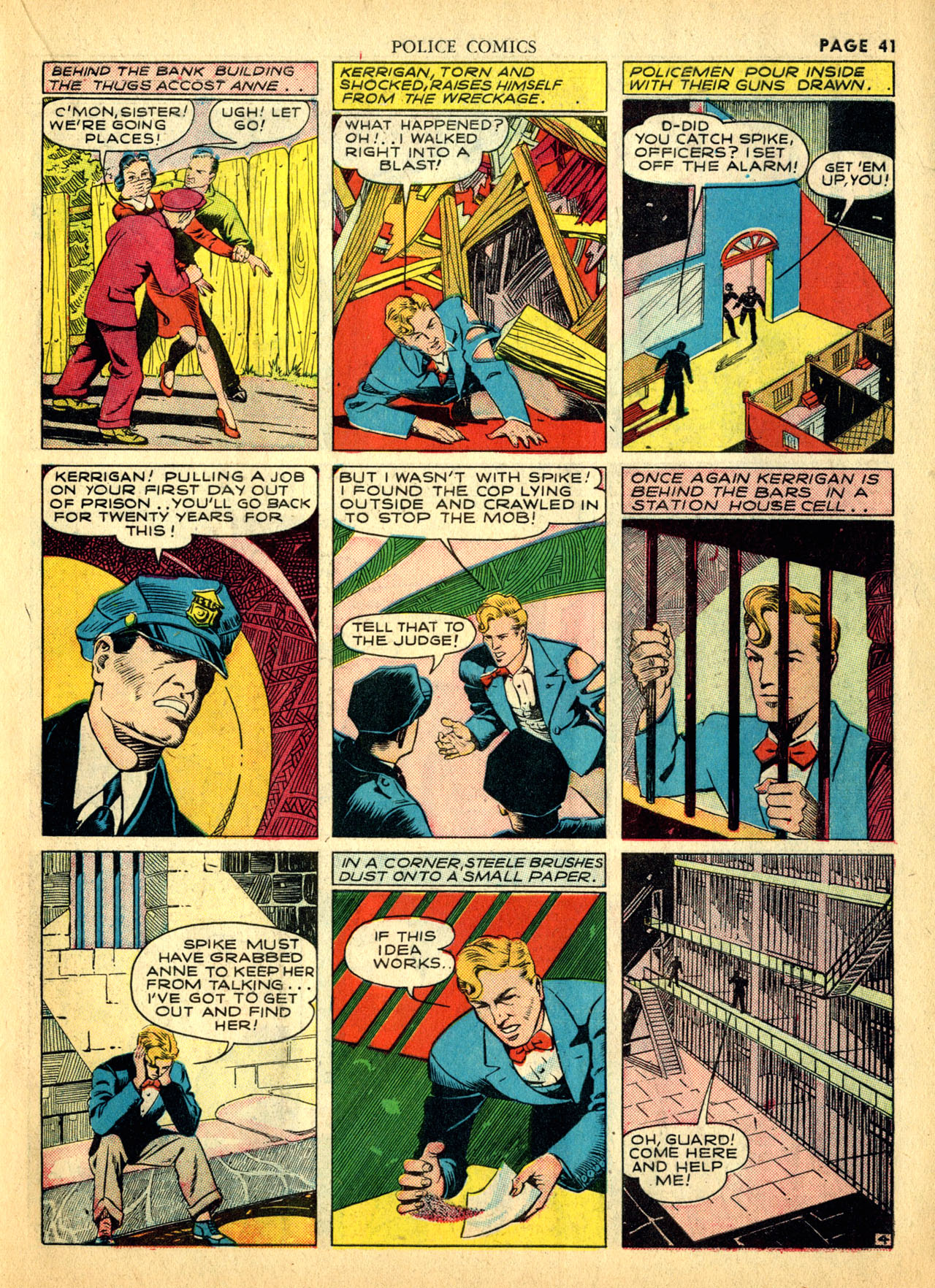 Police Comics #1 #127 - English 44