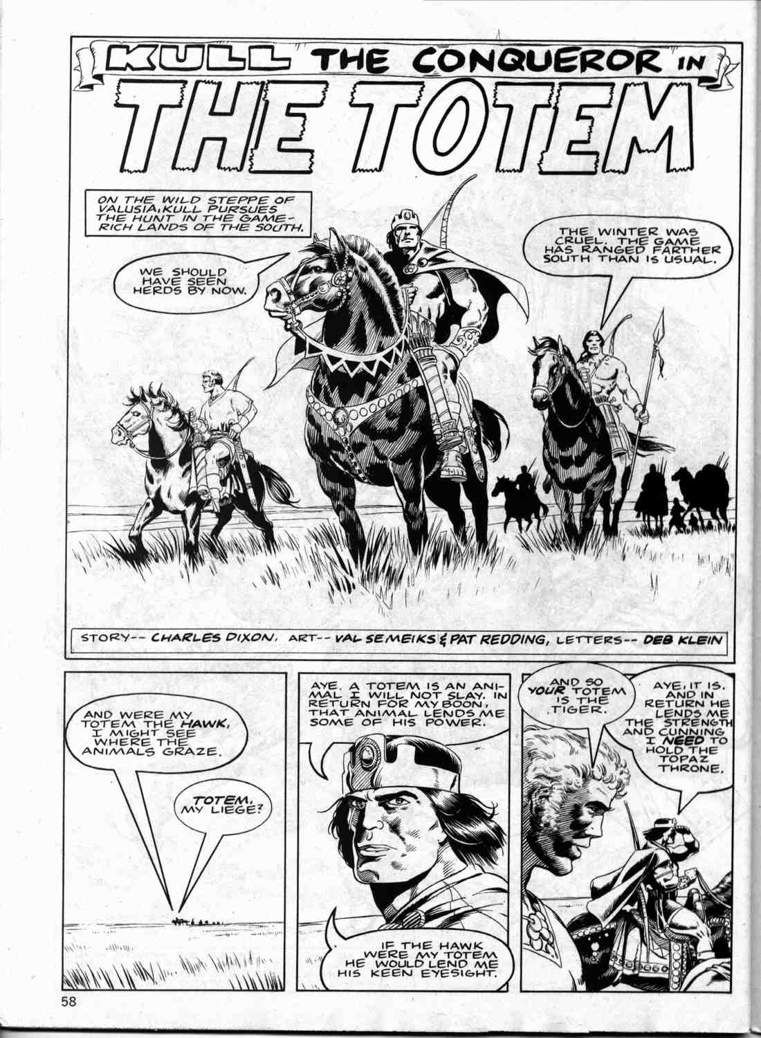 The Savage Sword Of Conan Issue #133 #134 - English 57