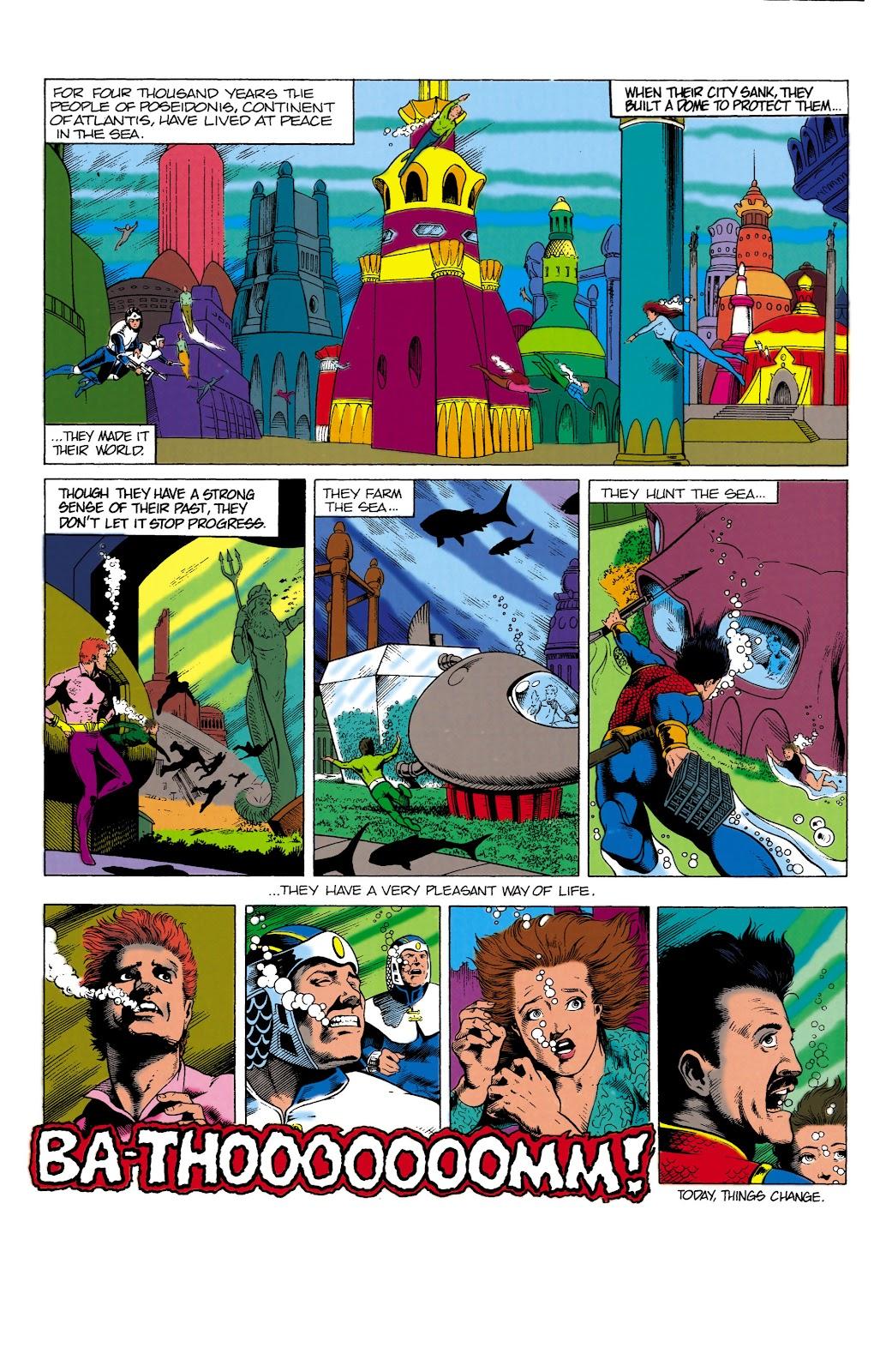 Aquaman (1991) Issue #1 #1 - English 2