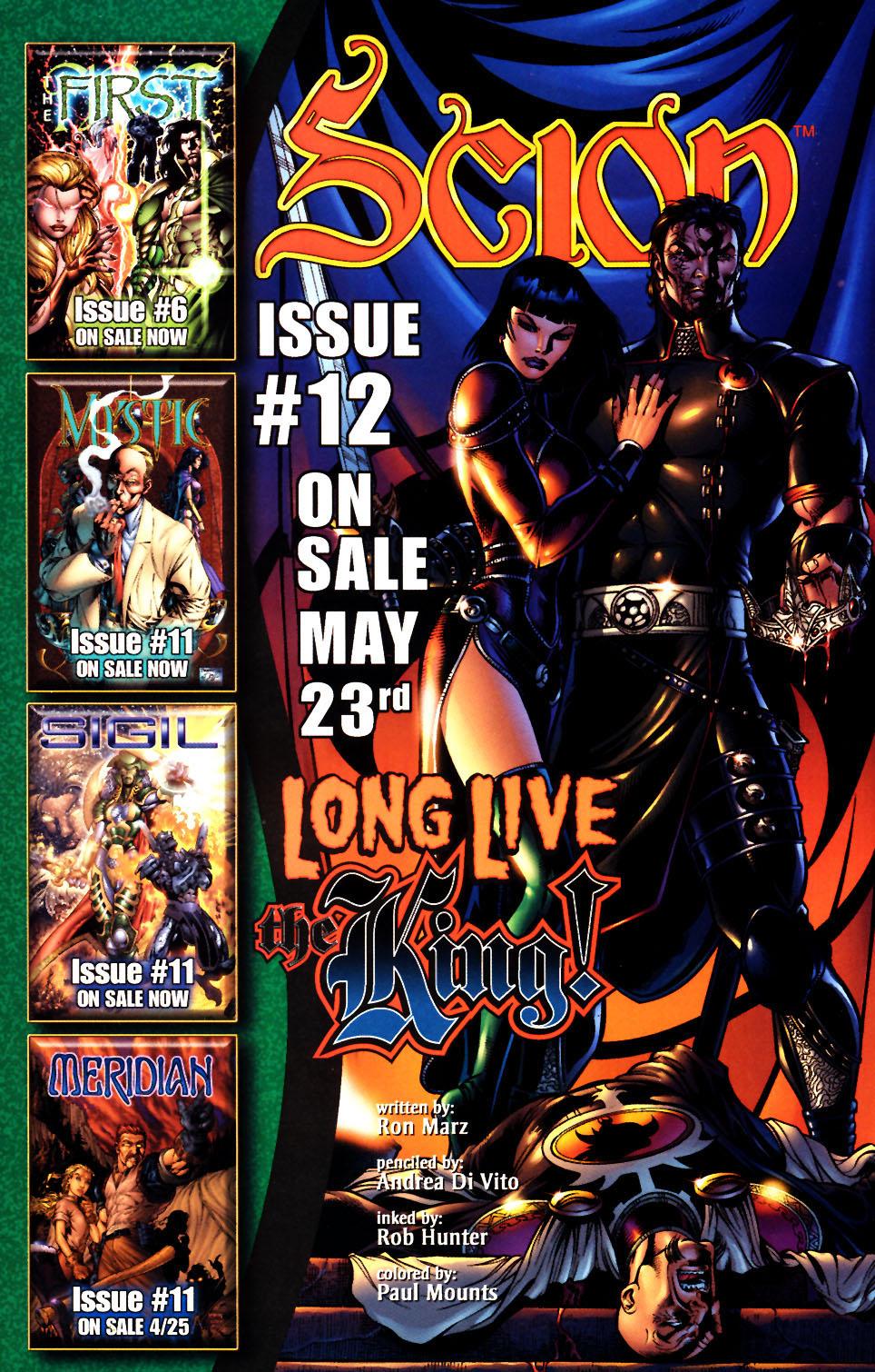 Read online Scion comic -  Issue #11 - 26