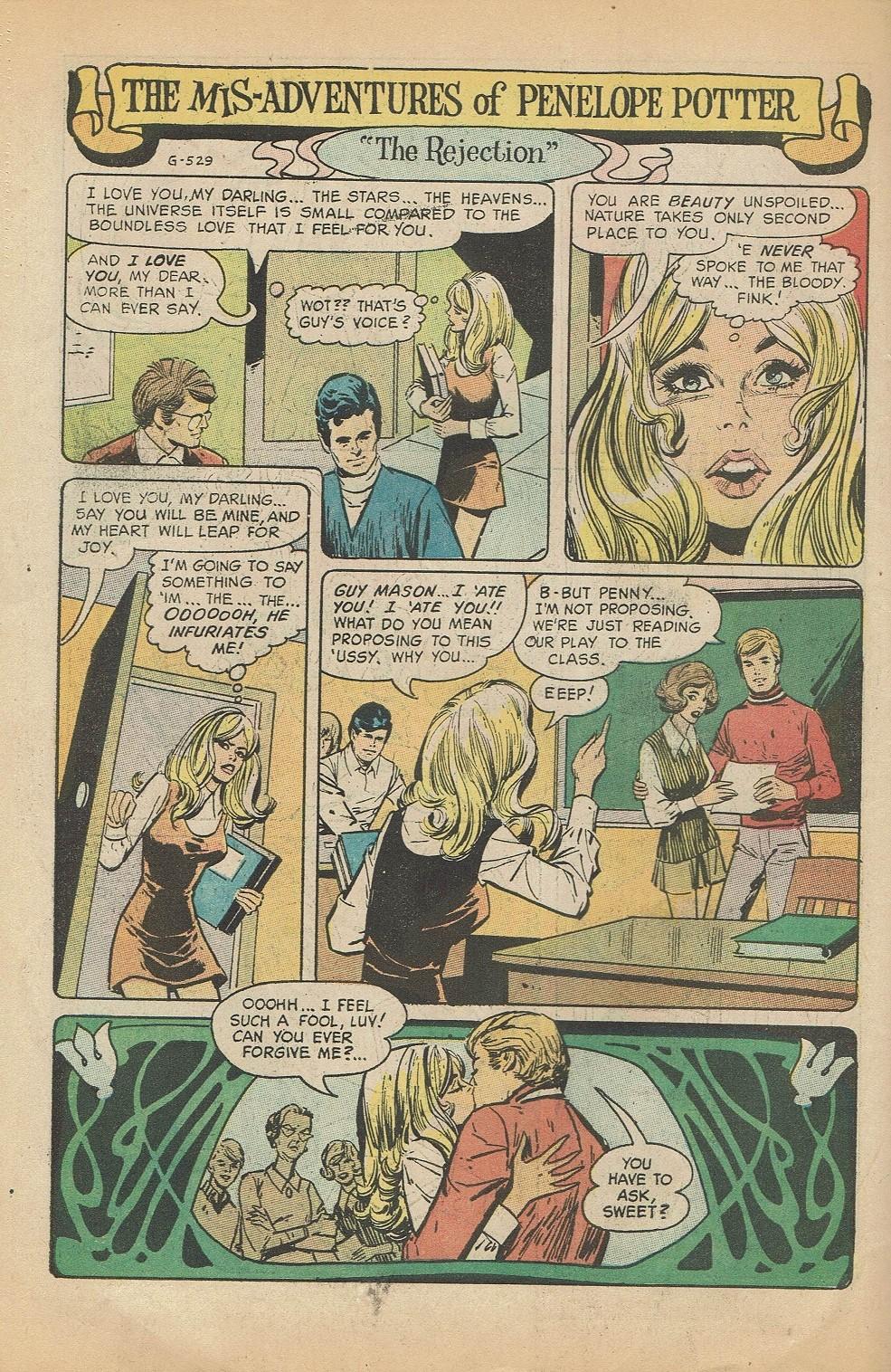 Read online Secret Hearts comic -  Issue #144 - 34