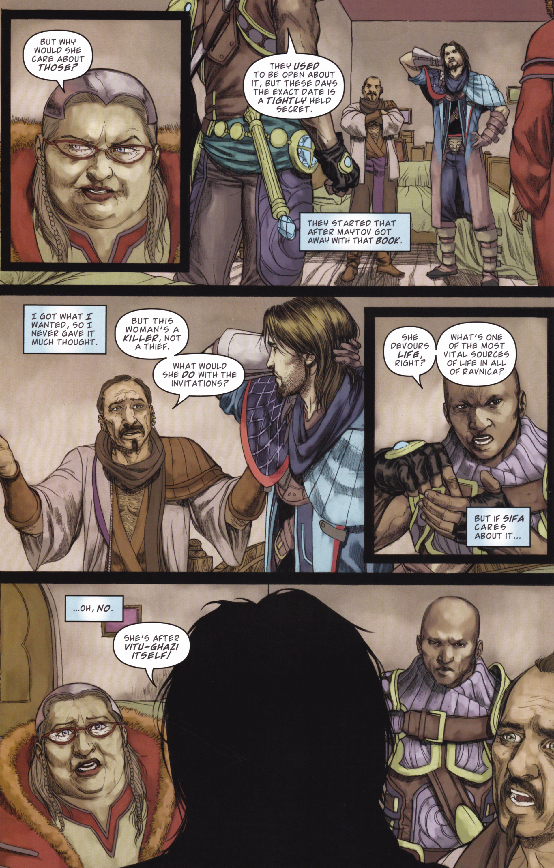 Read online Magic: The Gathering--Path of Vengeance comic -  Issue #2 - 22