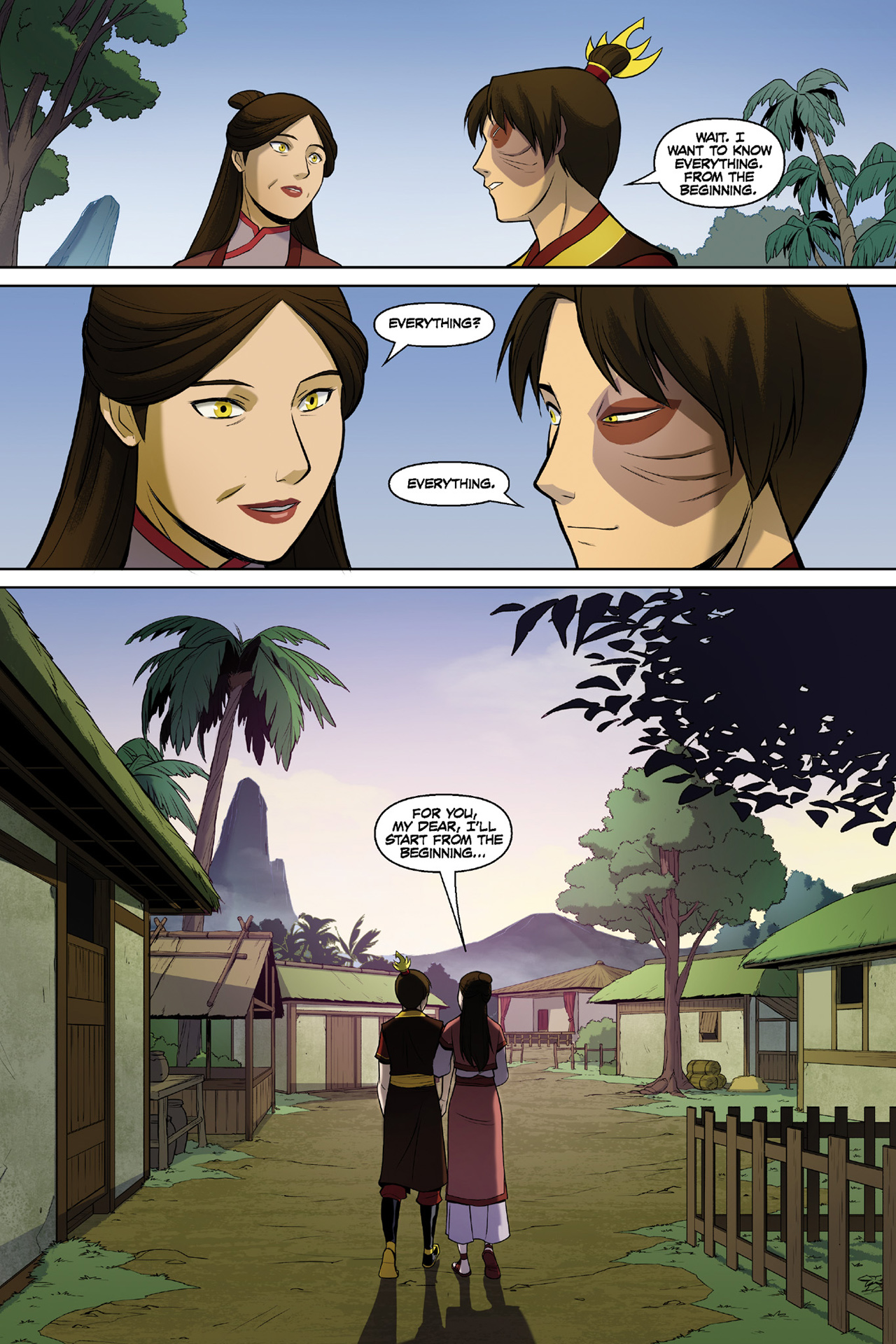 Read online Nickelodeon Avatar: The Last Airbender - The Search comic -  Issue # Part 3 - 76