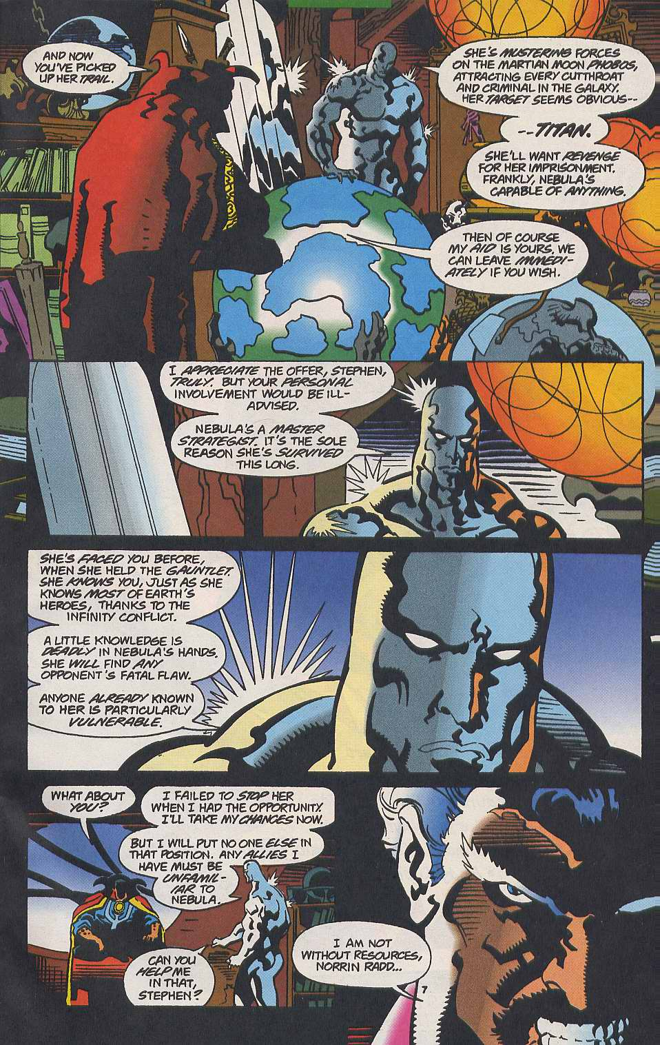 Read online Secret Defenders comic -  Issue #9 - 7