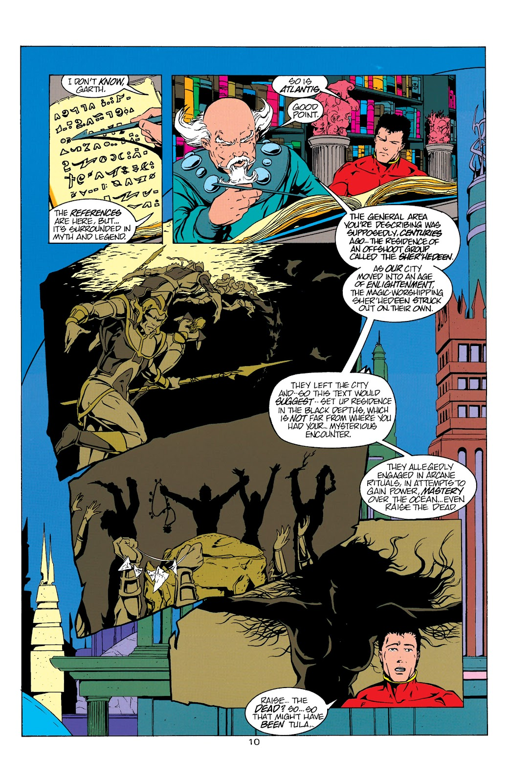 Aquaman (1994) Issue #5 #11 - English 11