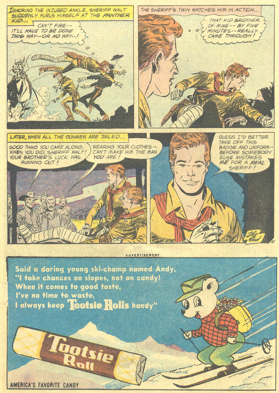 Read online All-Star Western (1951) comic -  Issue #105 - 12