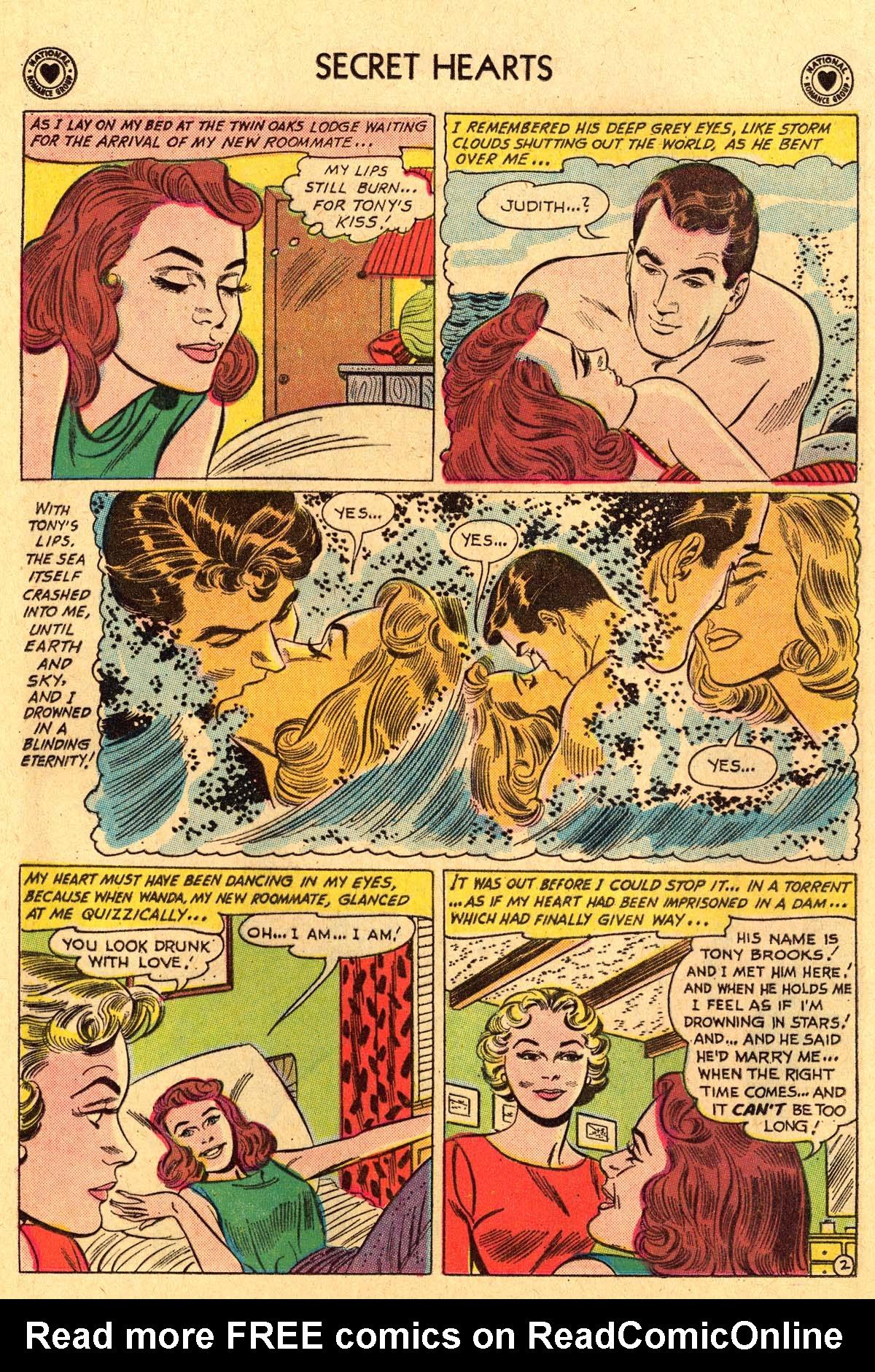 Read online Secret Hearts comic -  Issue #69 - 28