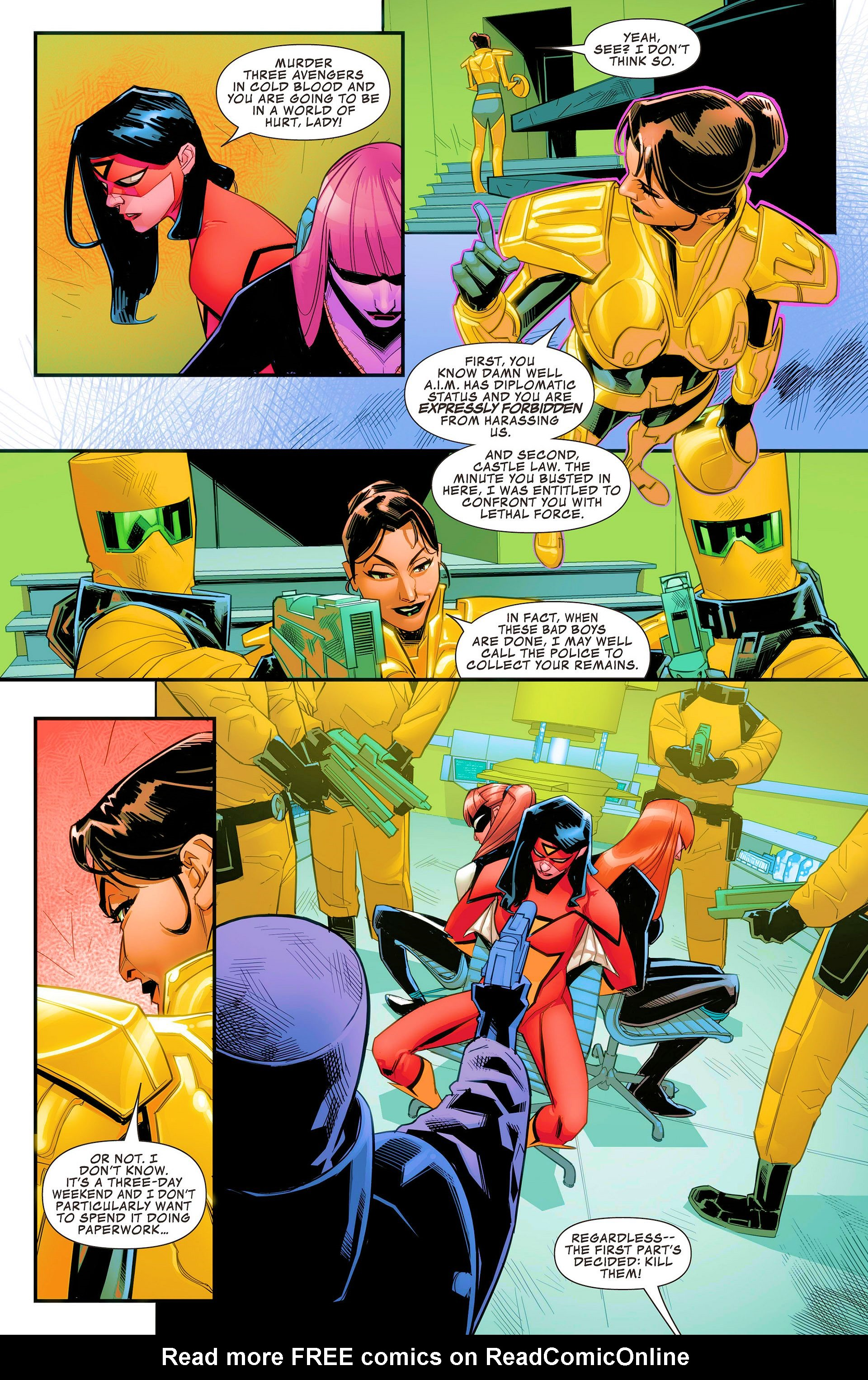 Read online Avengers Assemble (2012) comic -  Issue #21 - 20