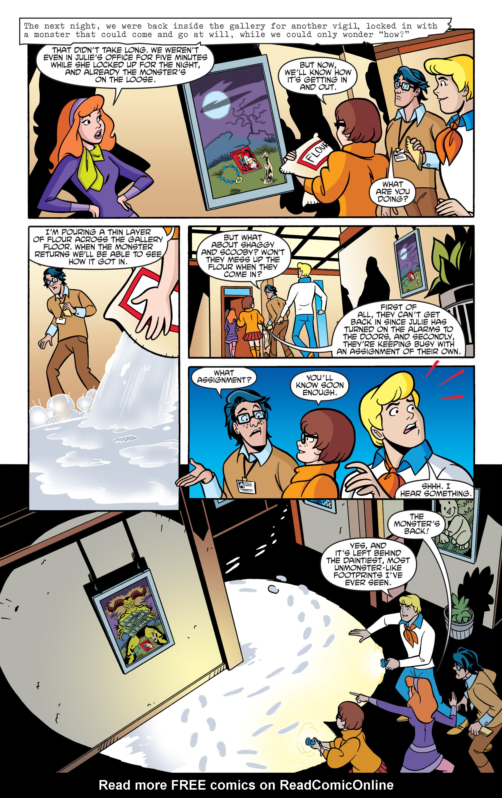 Read online Scooby-Doo: Where Are You? comic -  Issue #69 - 20