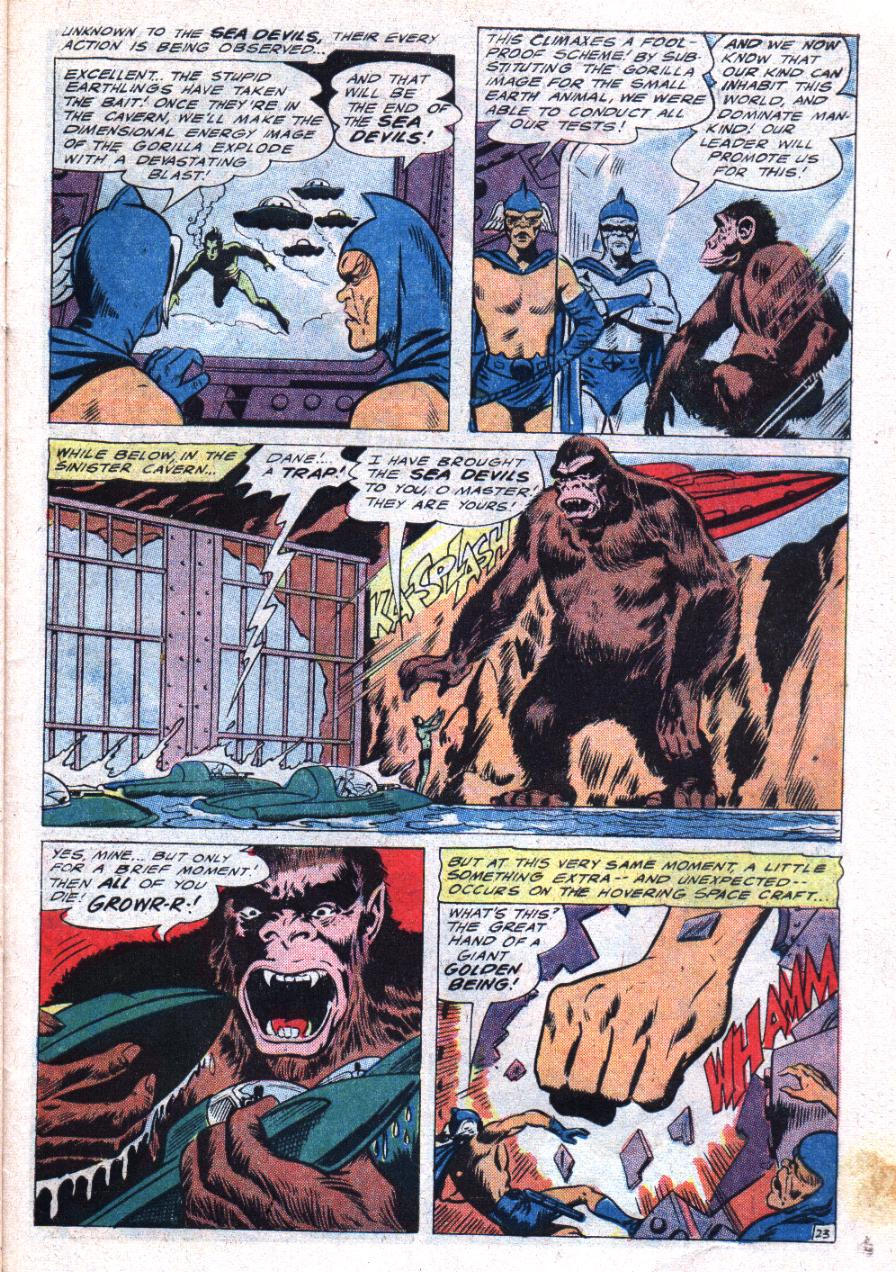 Read online Sea Devils comic -  Issue #30 - 32