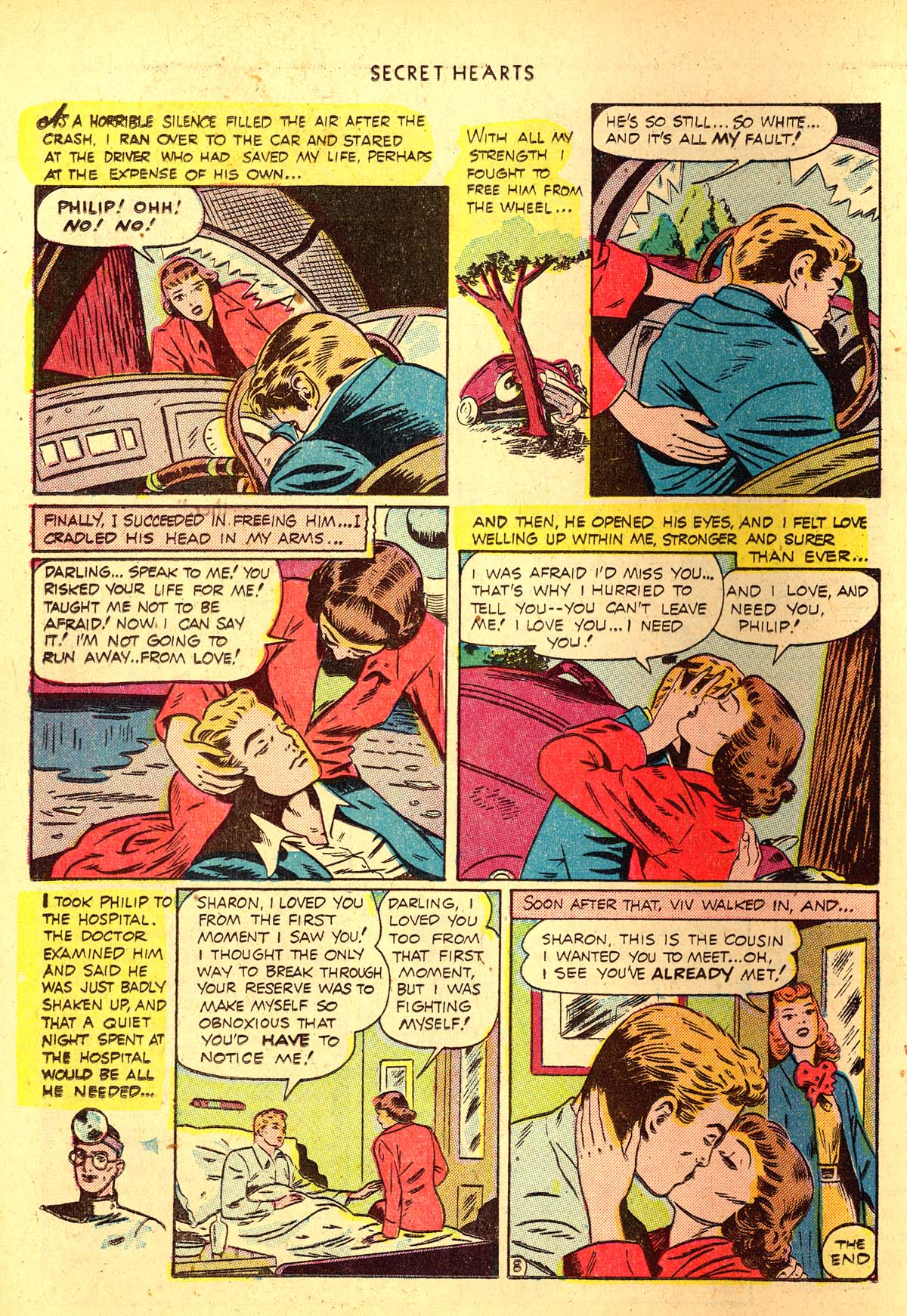 Read online Secret Hearts comic -  Issue #4 - 36