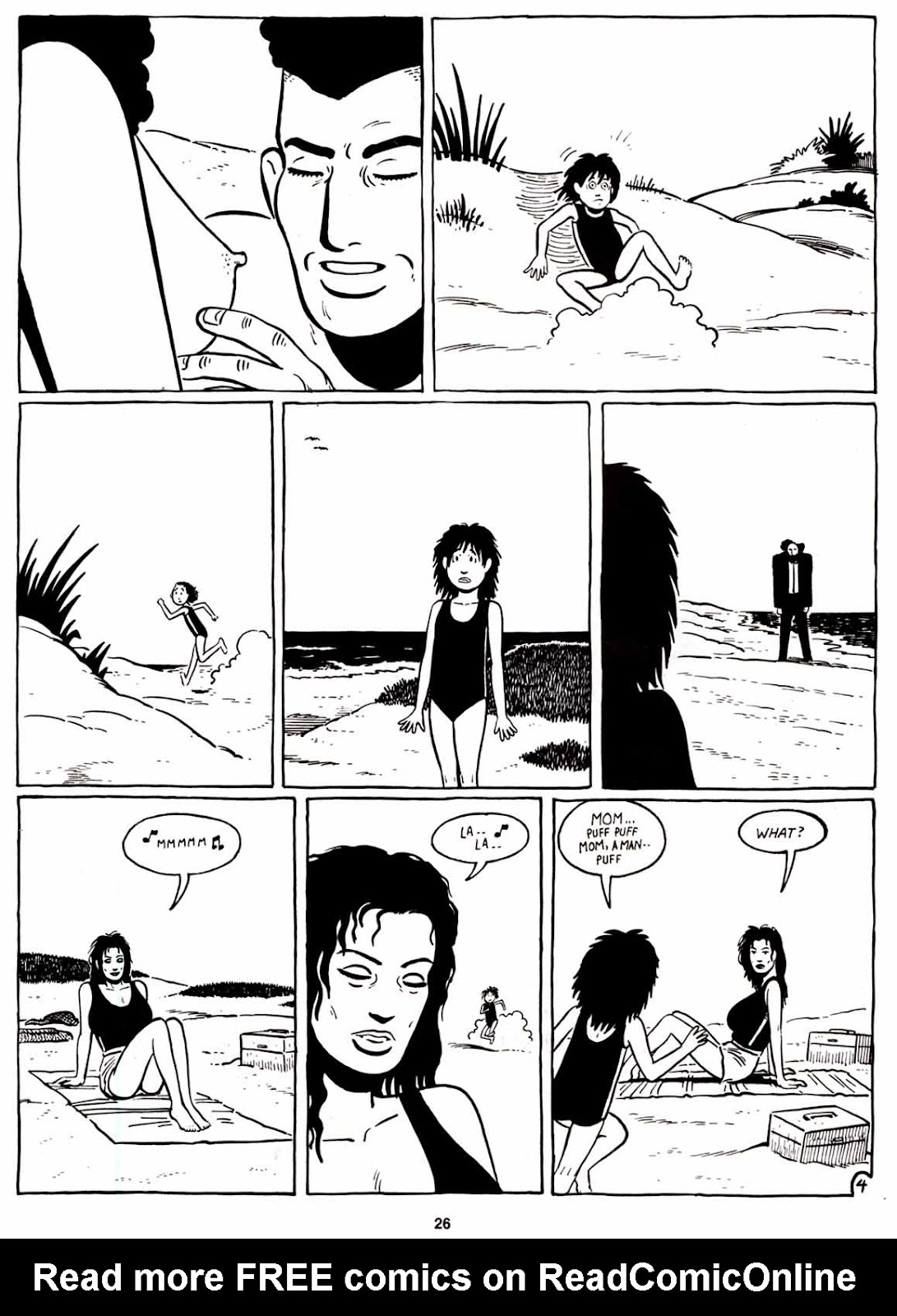 Love and Rockets (1982) Issue #8 #7 - English 28