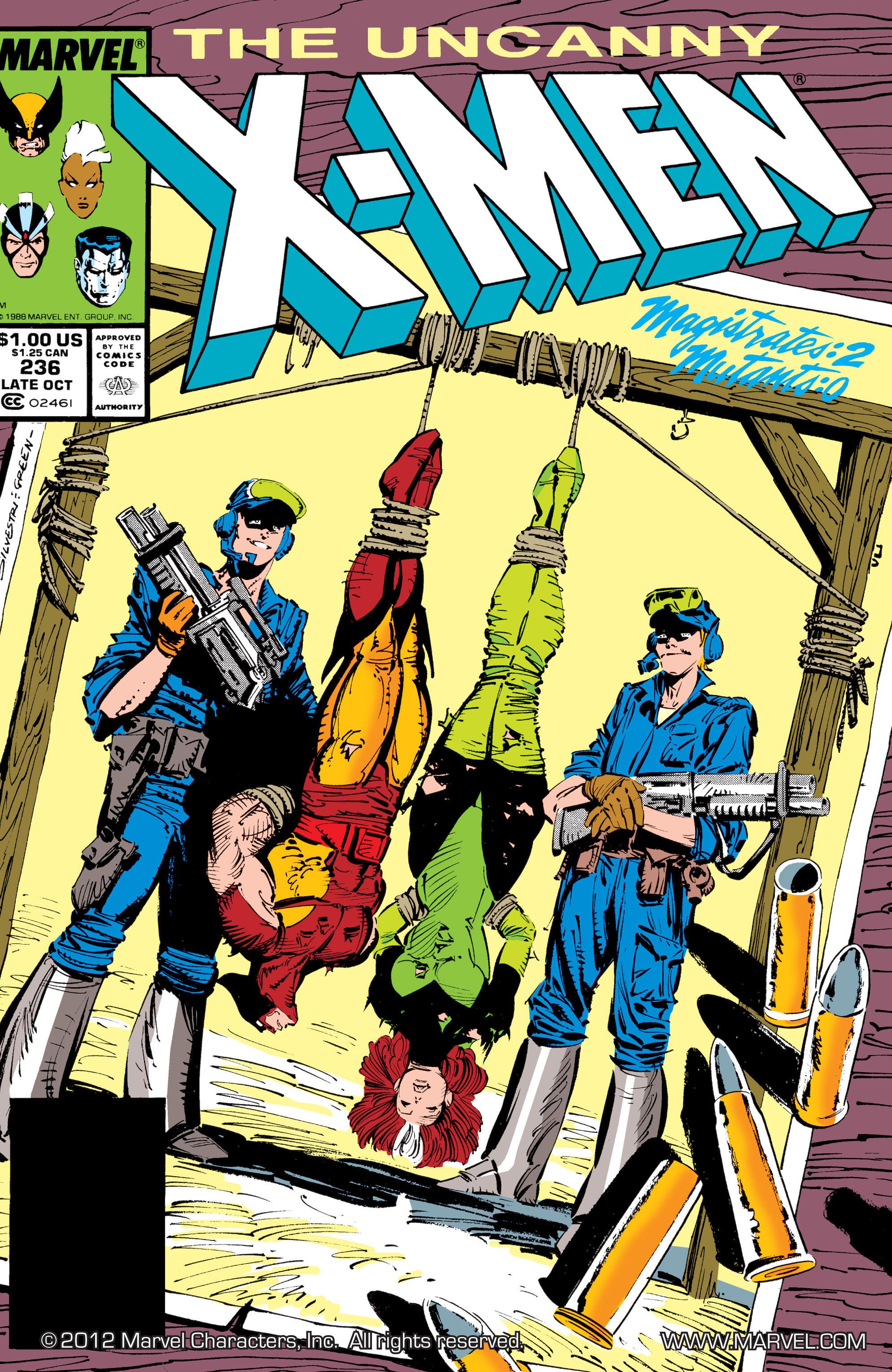 Uncanny X-Men (1963) 236 Page 1