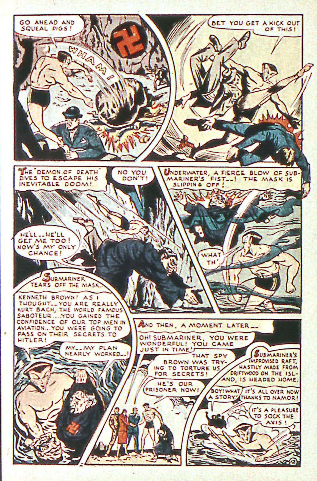 Sub-Mariner Comics Issue #16 #16 - English 14