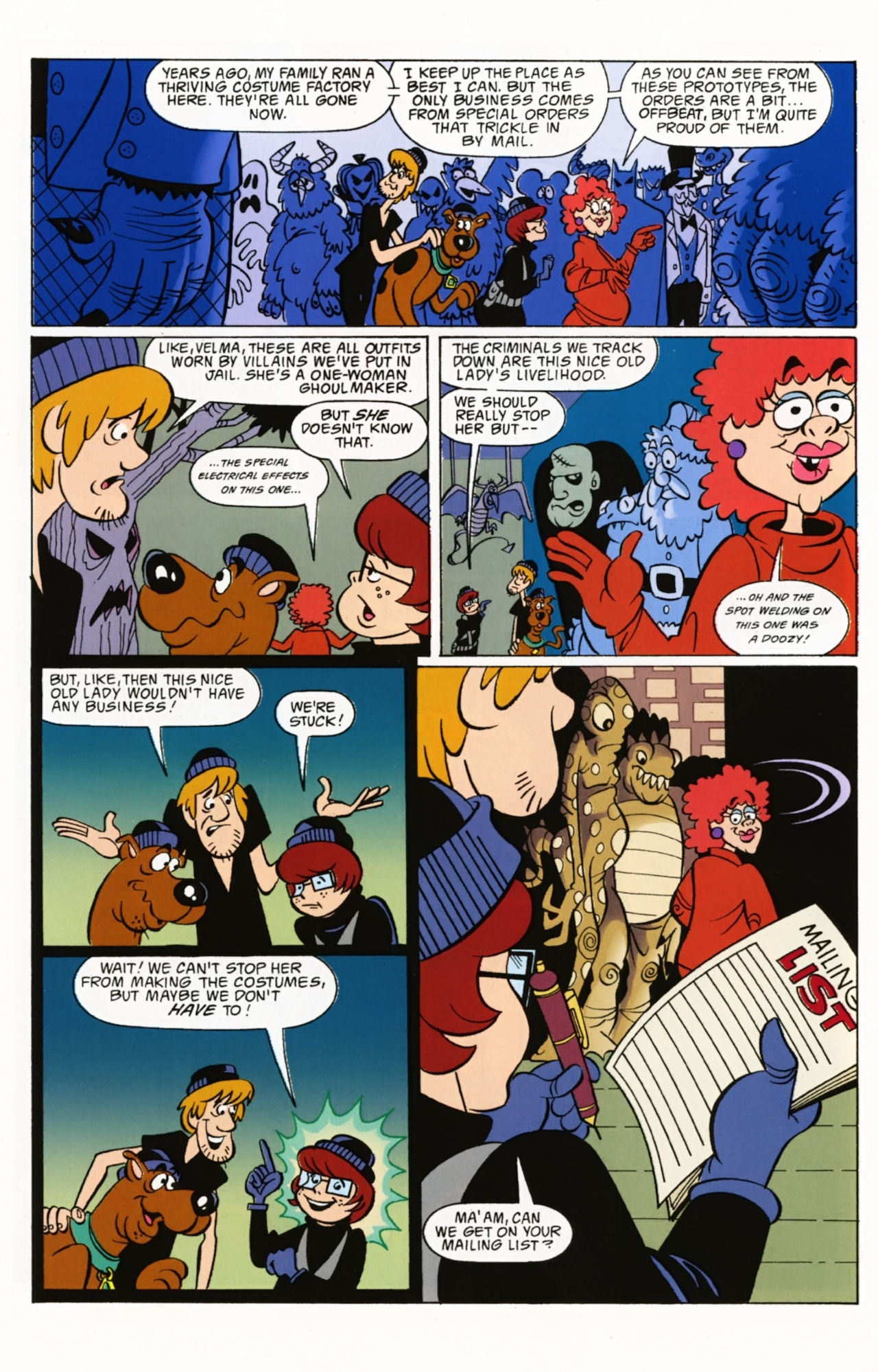Read online Scooby-Doo: Where Are You? comic -  Issue #2 - 25