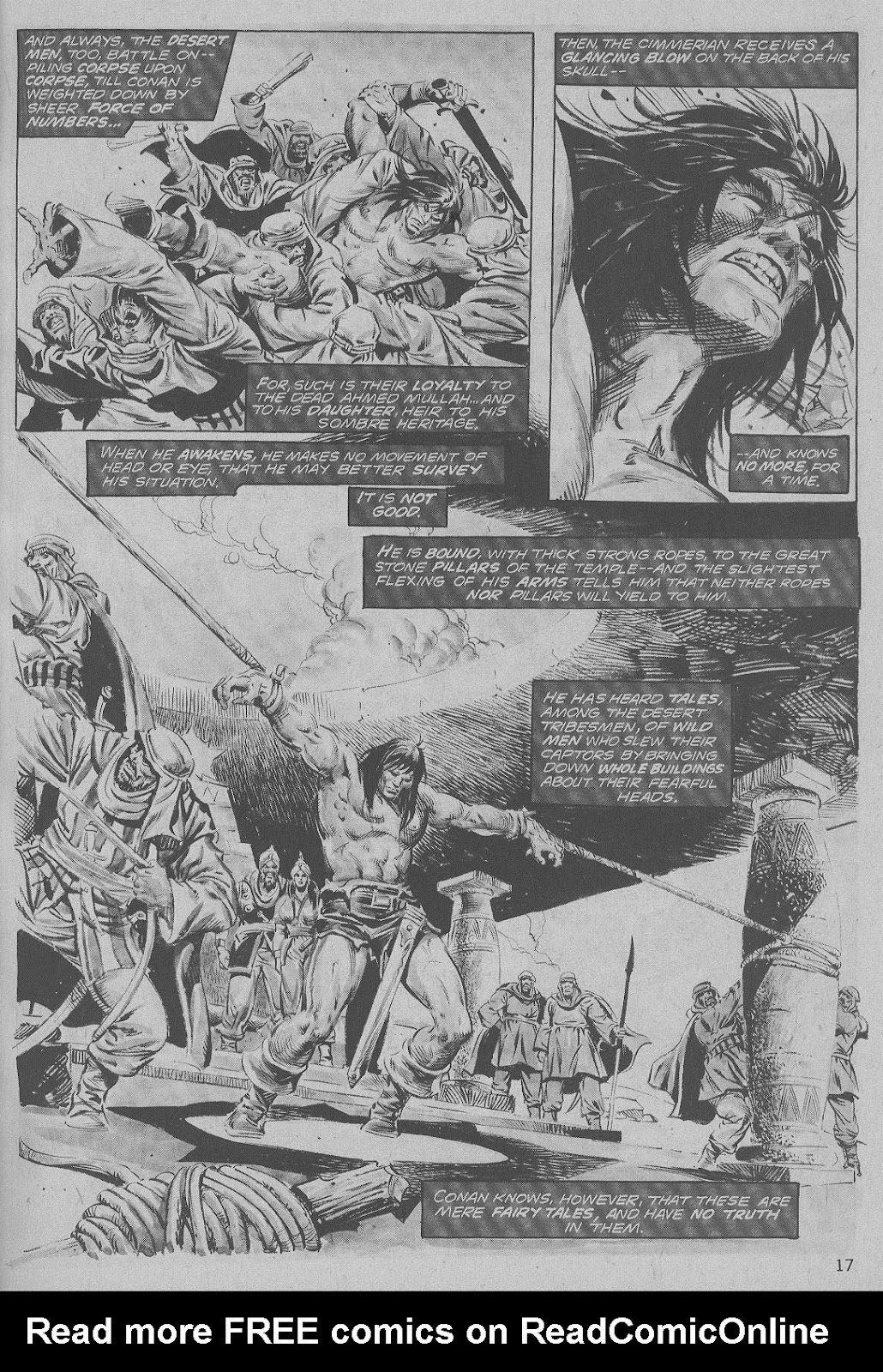 The Savage Sword Of Conan Issue #6 #7 - English 17