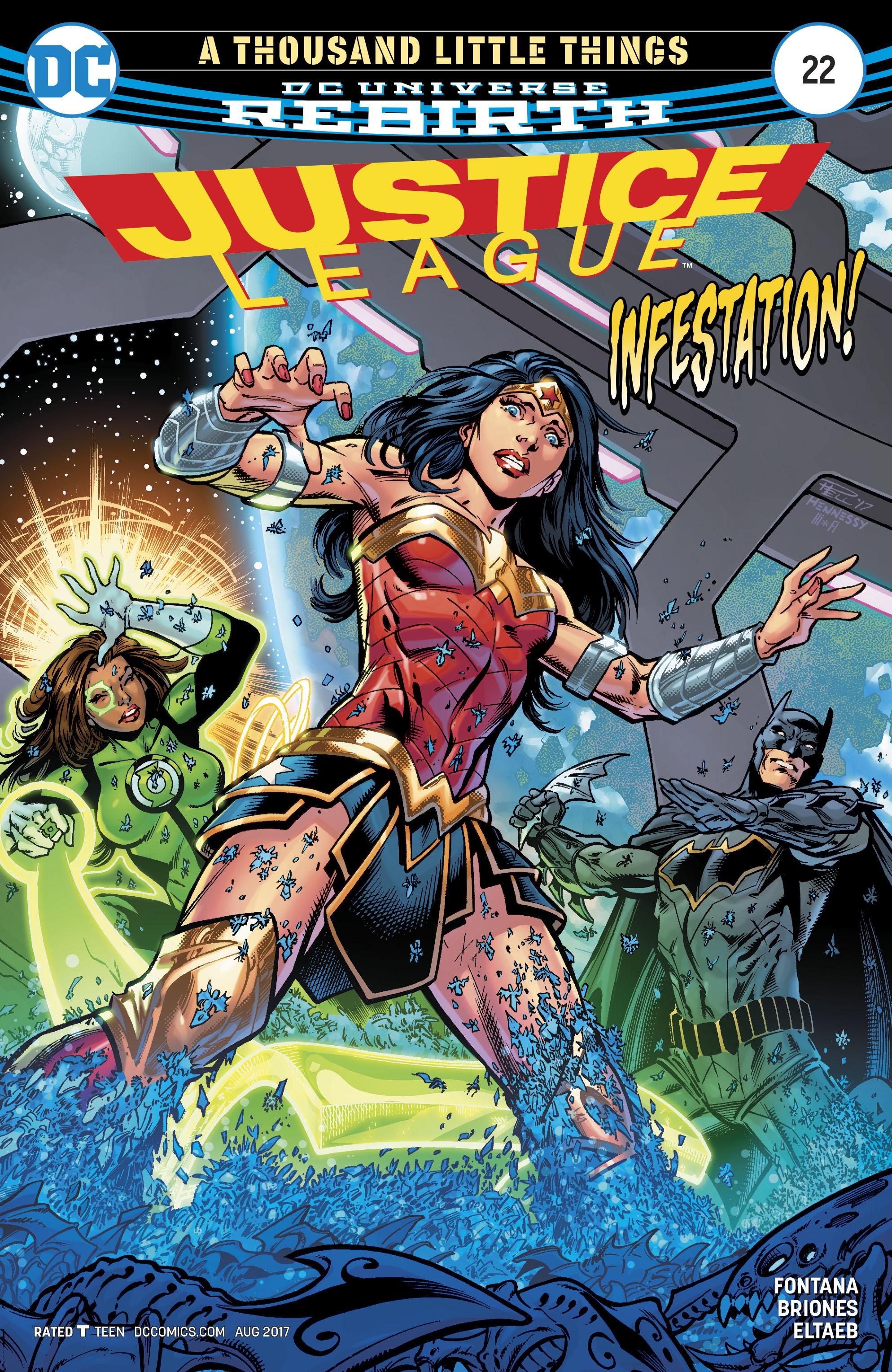 Justice League (2016) 22 Page 1
